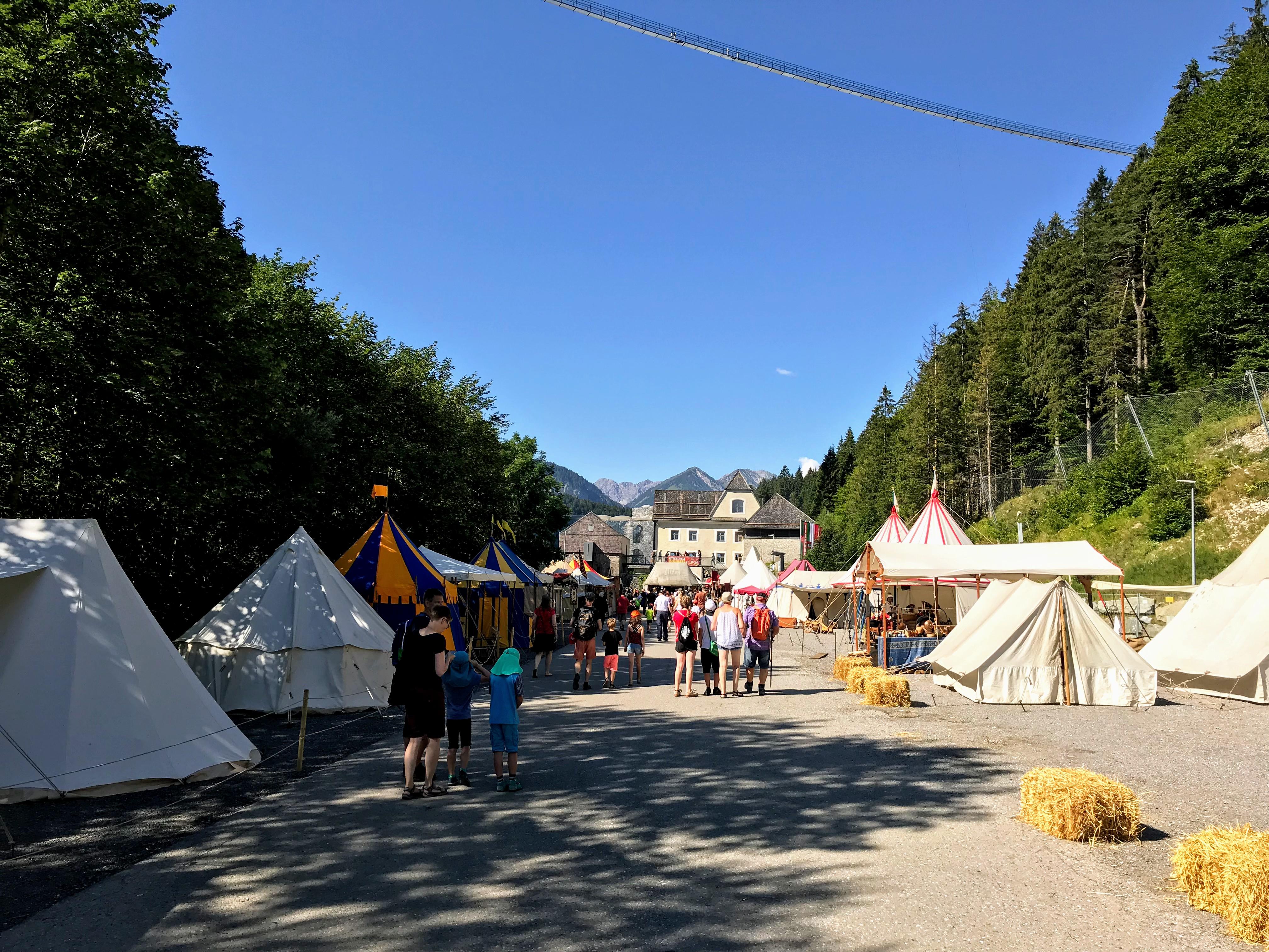 Burg Ehrenberg Reutte inkom ridderspelen