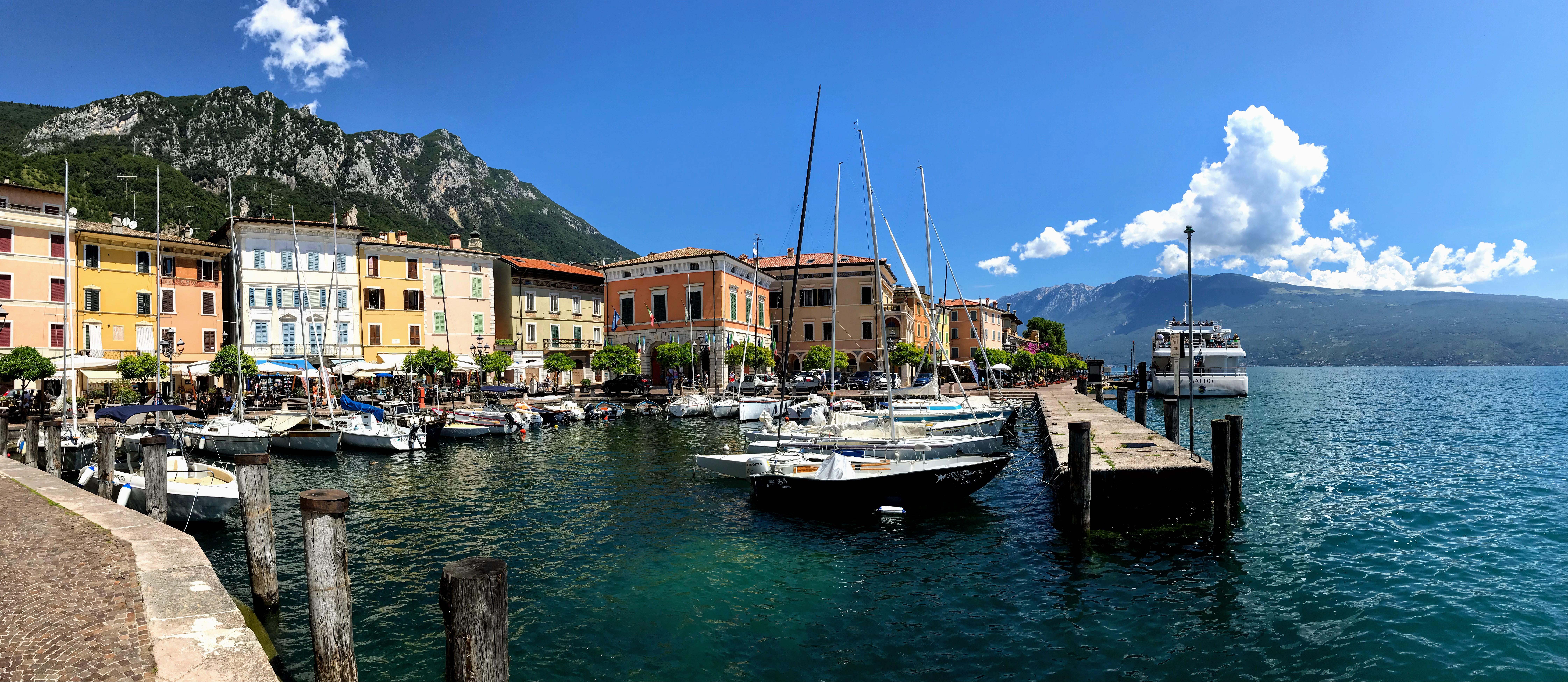 Het haventje van Gargnano