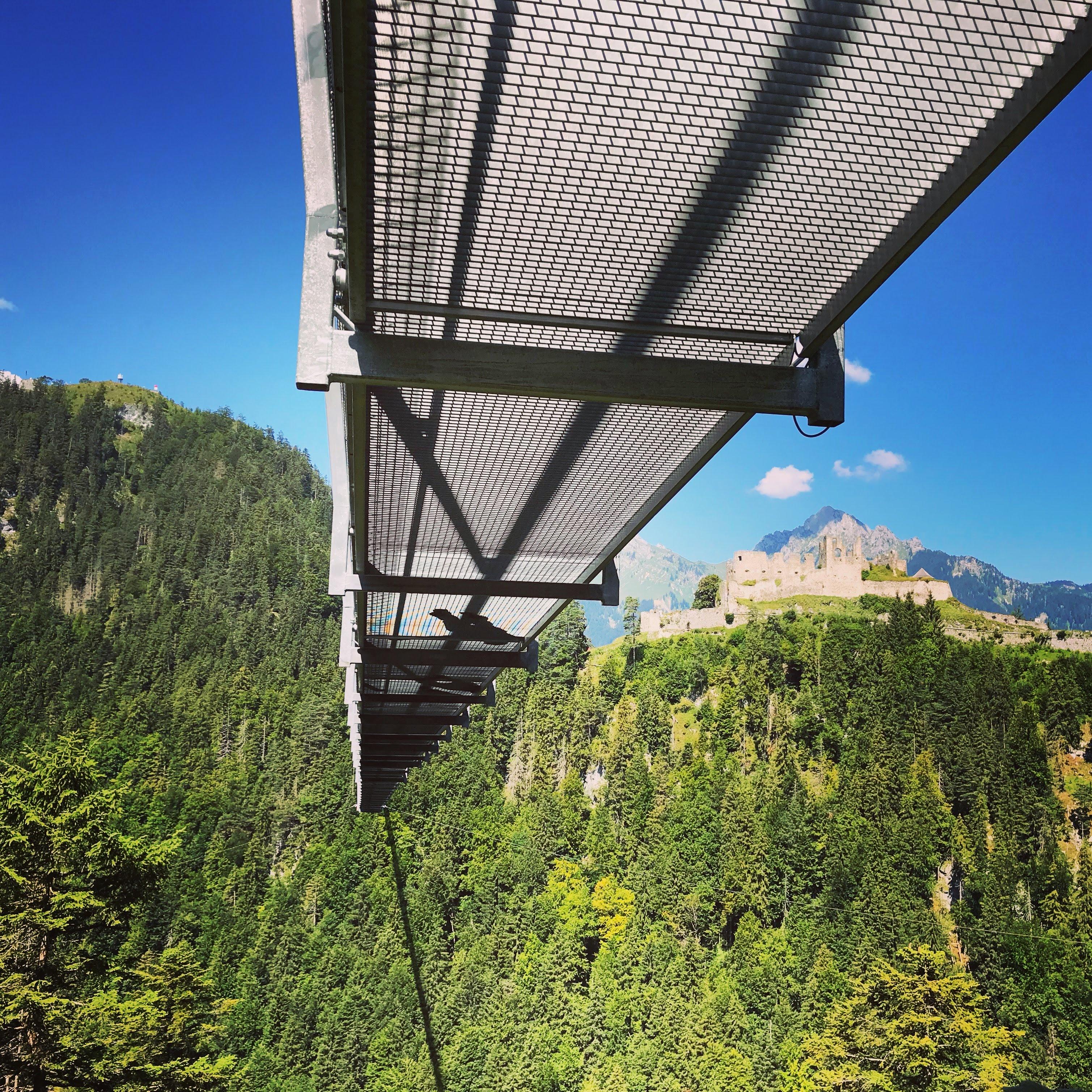 Highline 179 hangbrug Reutte