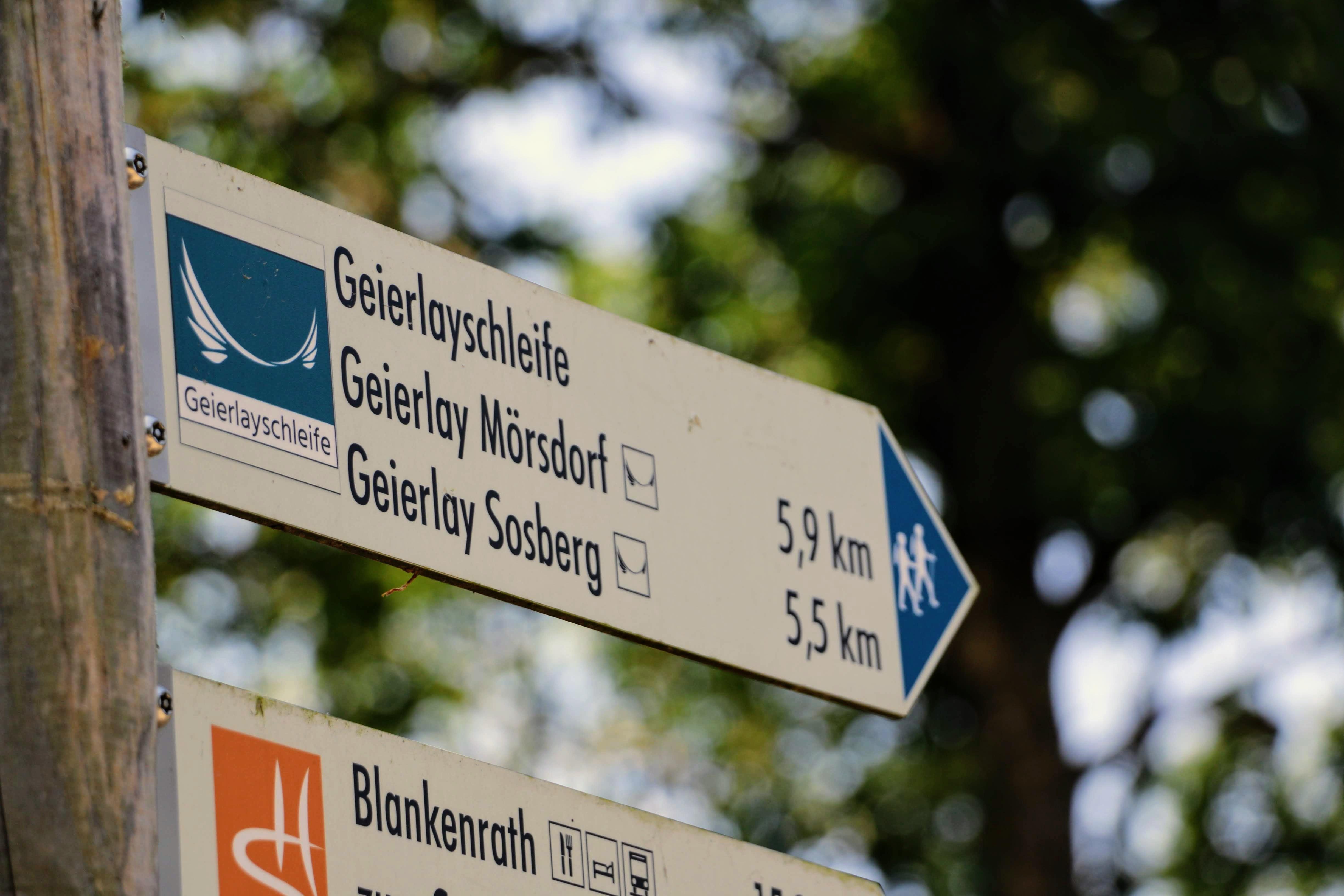 Wandeling geierlayschleife mörsdorf