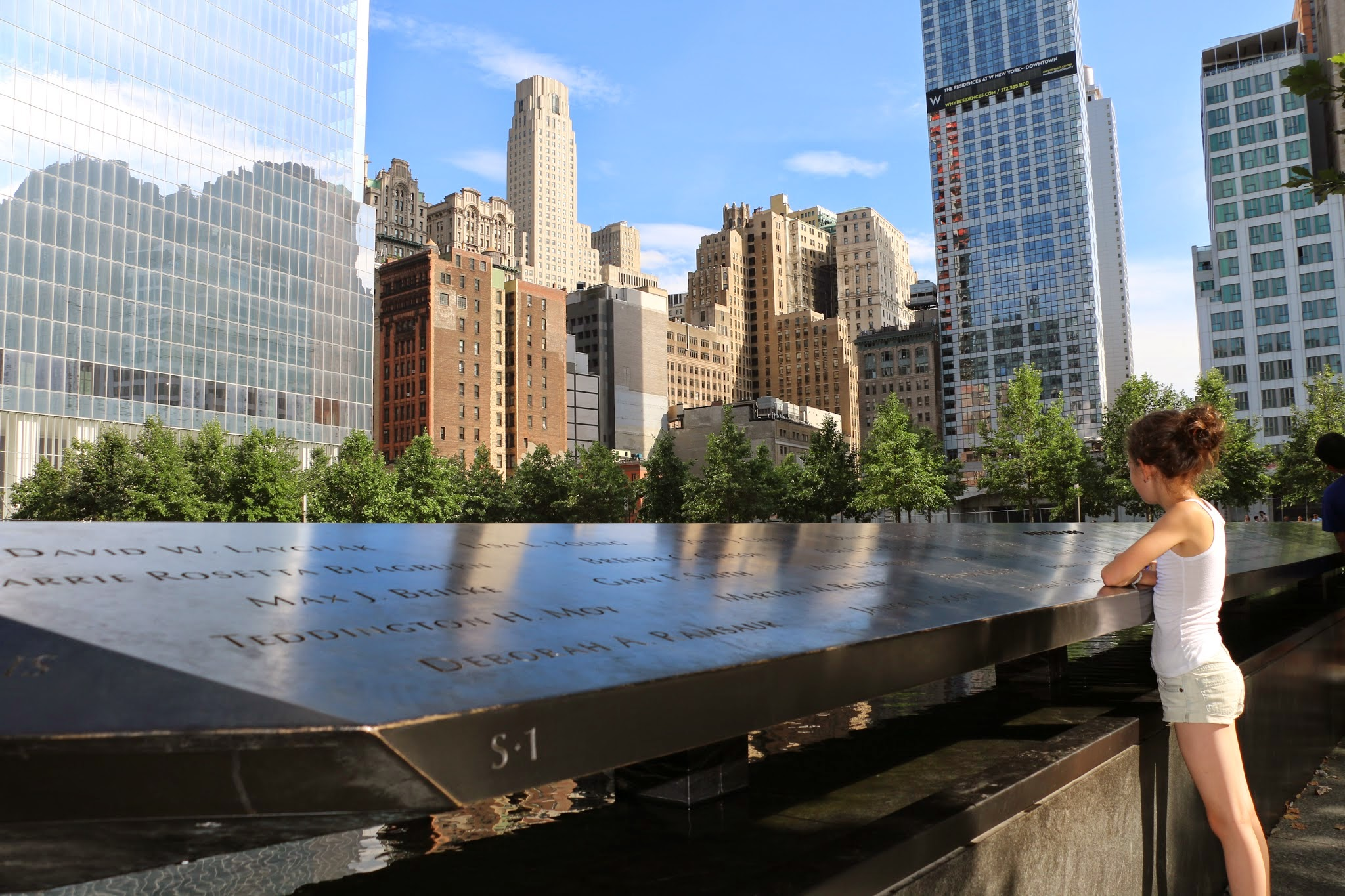11 september monument in New York bezoeken