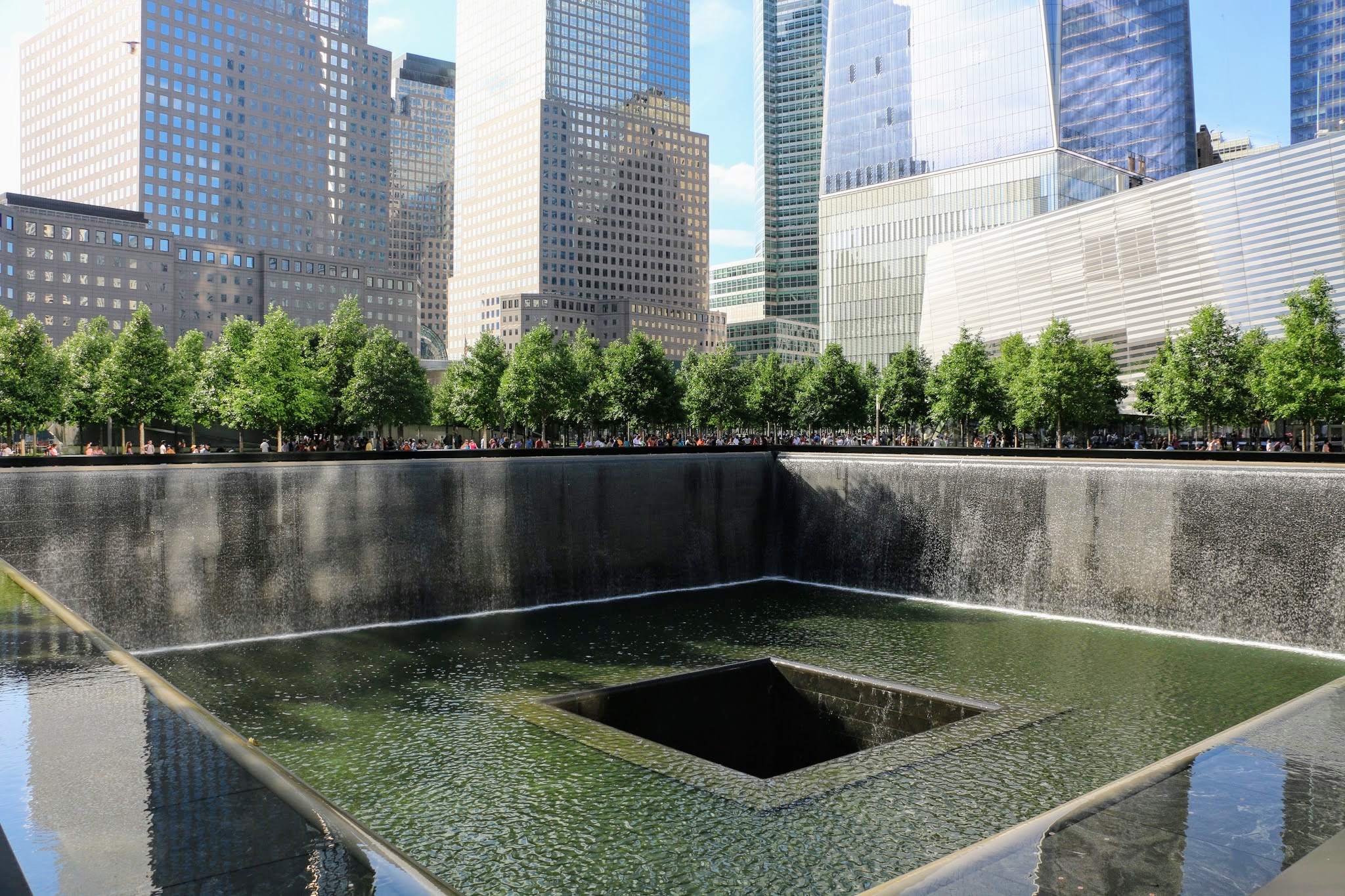 9/11 Memorial-monument in New York
