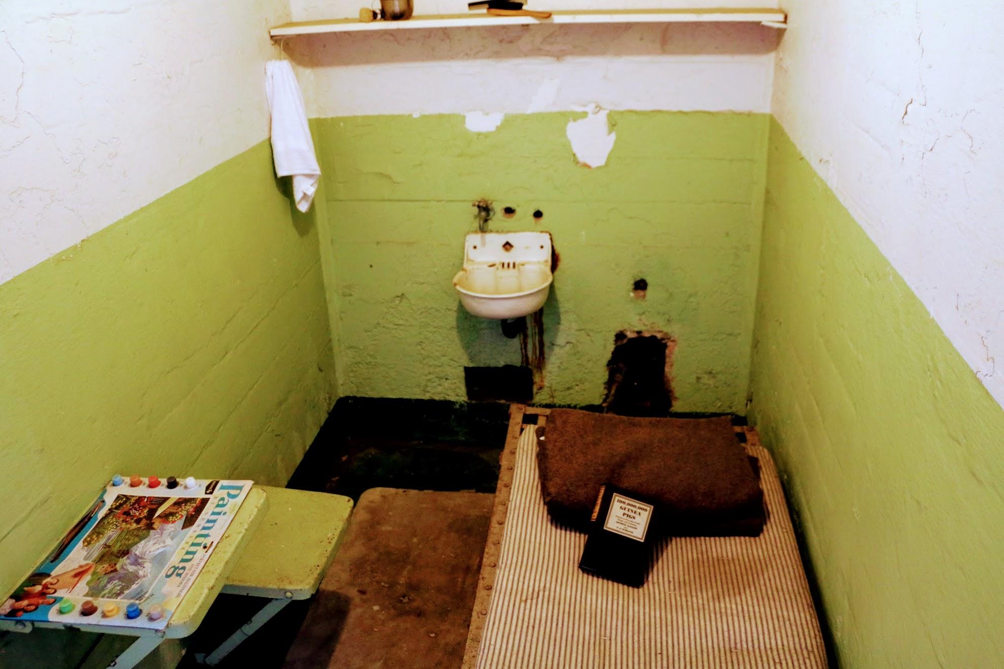 Cellen Alcatraz Island bezoeken