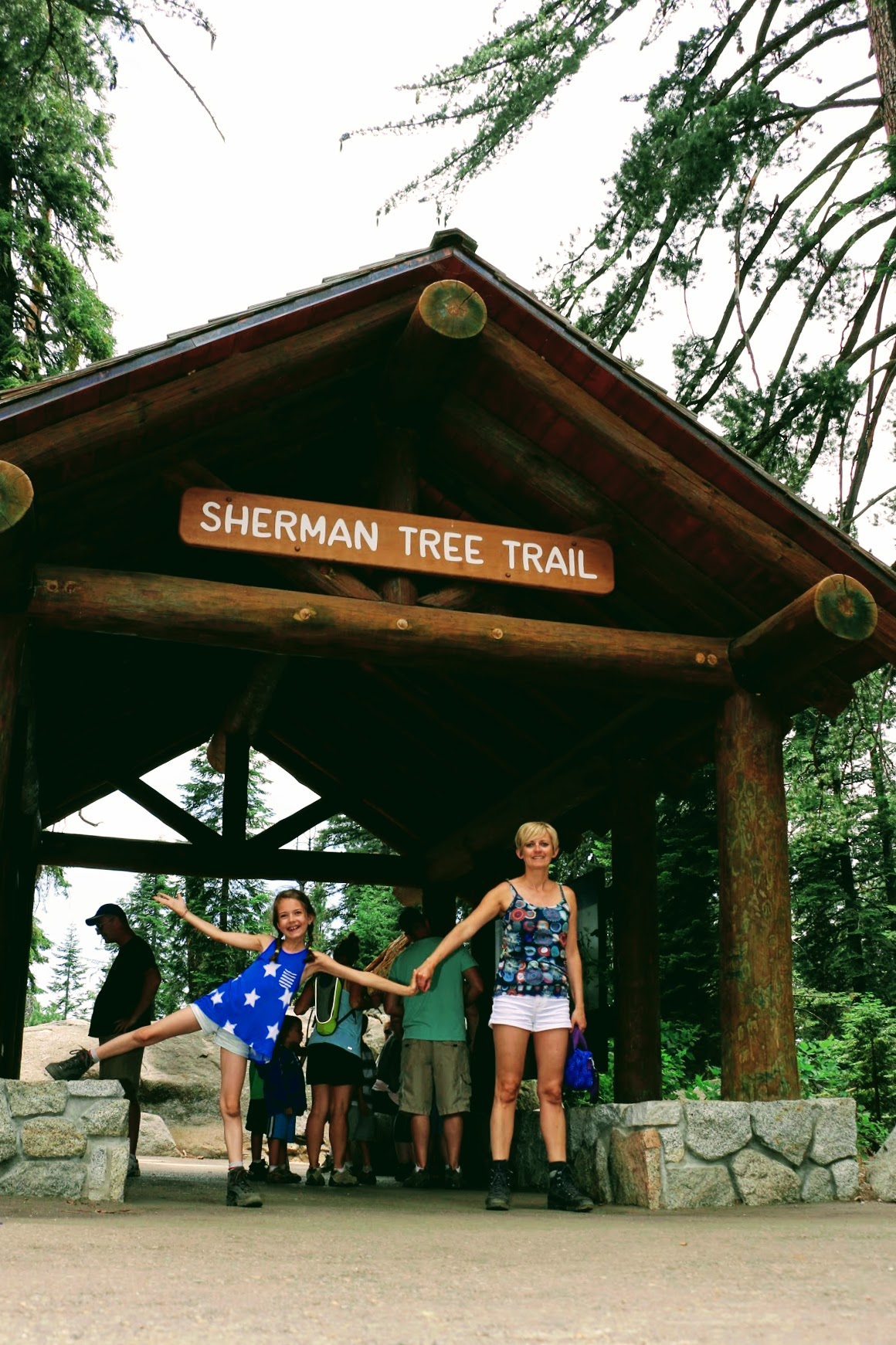 Sherman Tree Trail wandeling