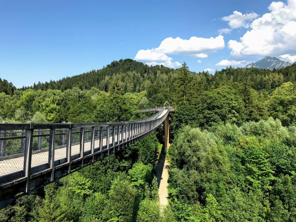 Baumkronenweg Ziegelwies - Füssen, Ostallgäu