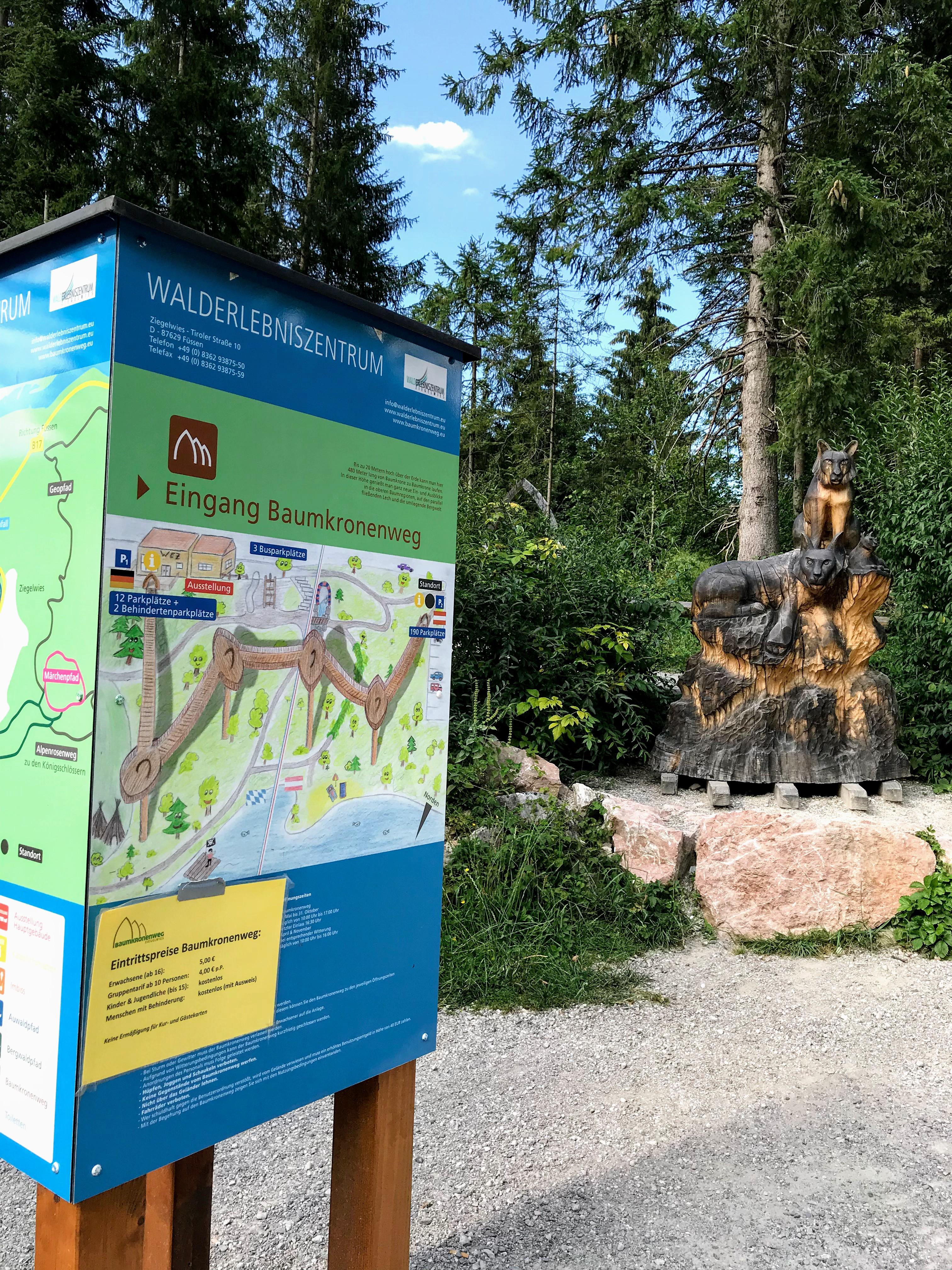 Walderlebniszentrum Ziegelwies Fussen Tirol