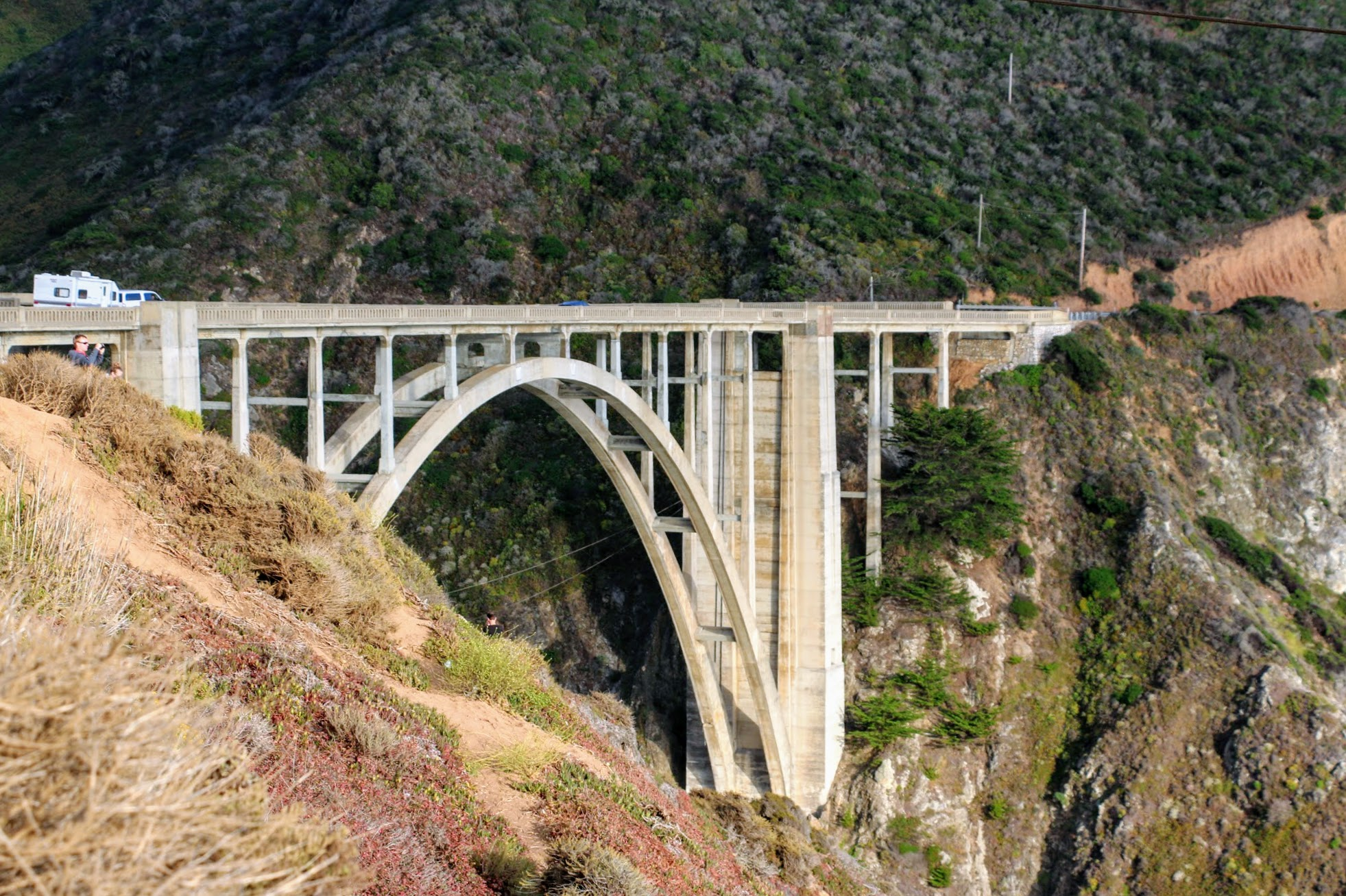 Bixby Bridge Highway One