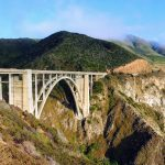 De Bixby Creek Bridge in Californië