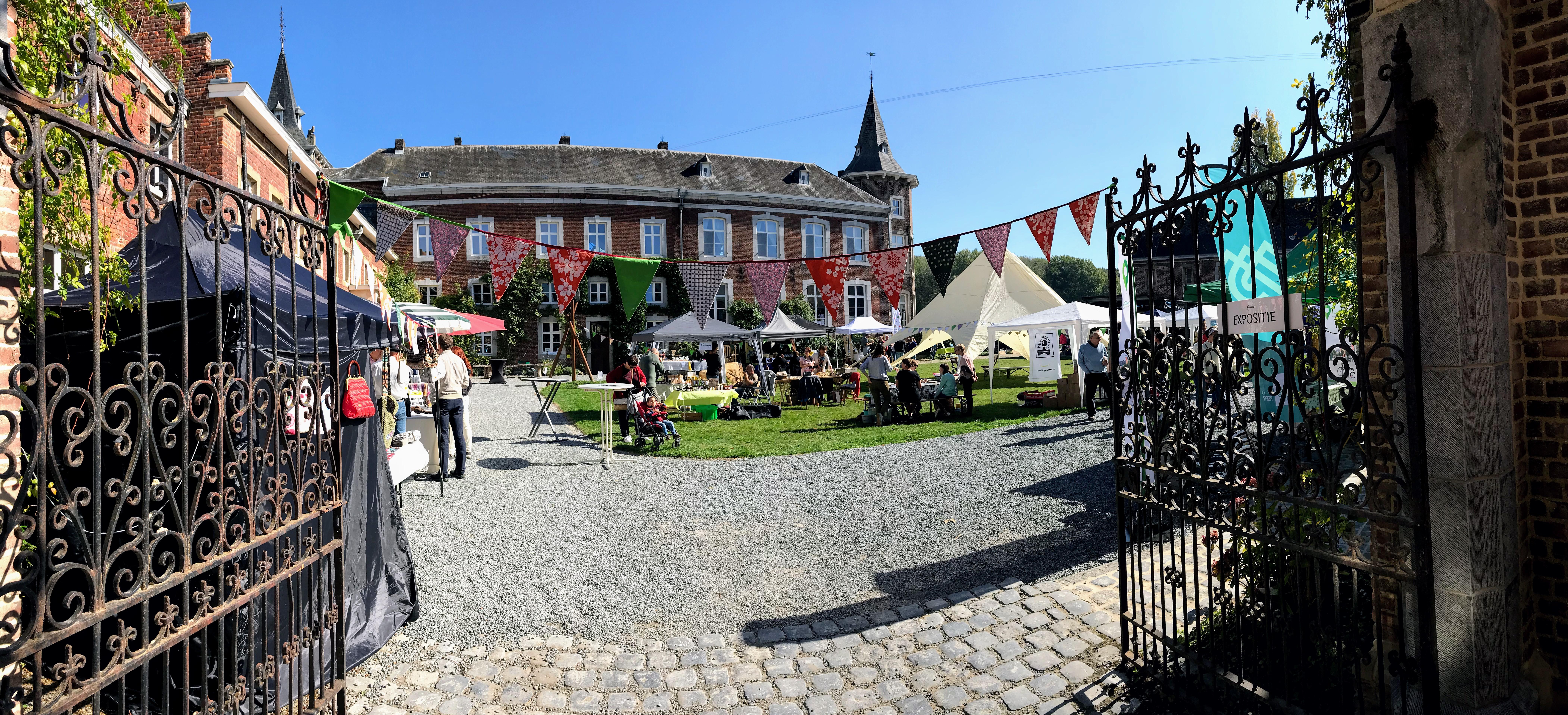 Vreucht van Eigen Bodem in kasteel Nieuwenhoven