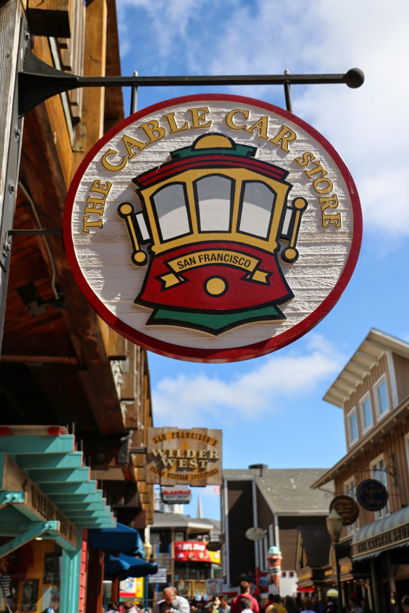 Winkel The Cable Car Tours op Pier 39