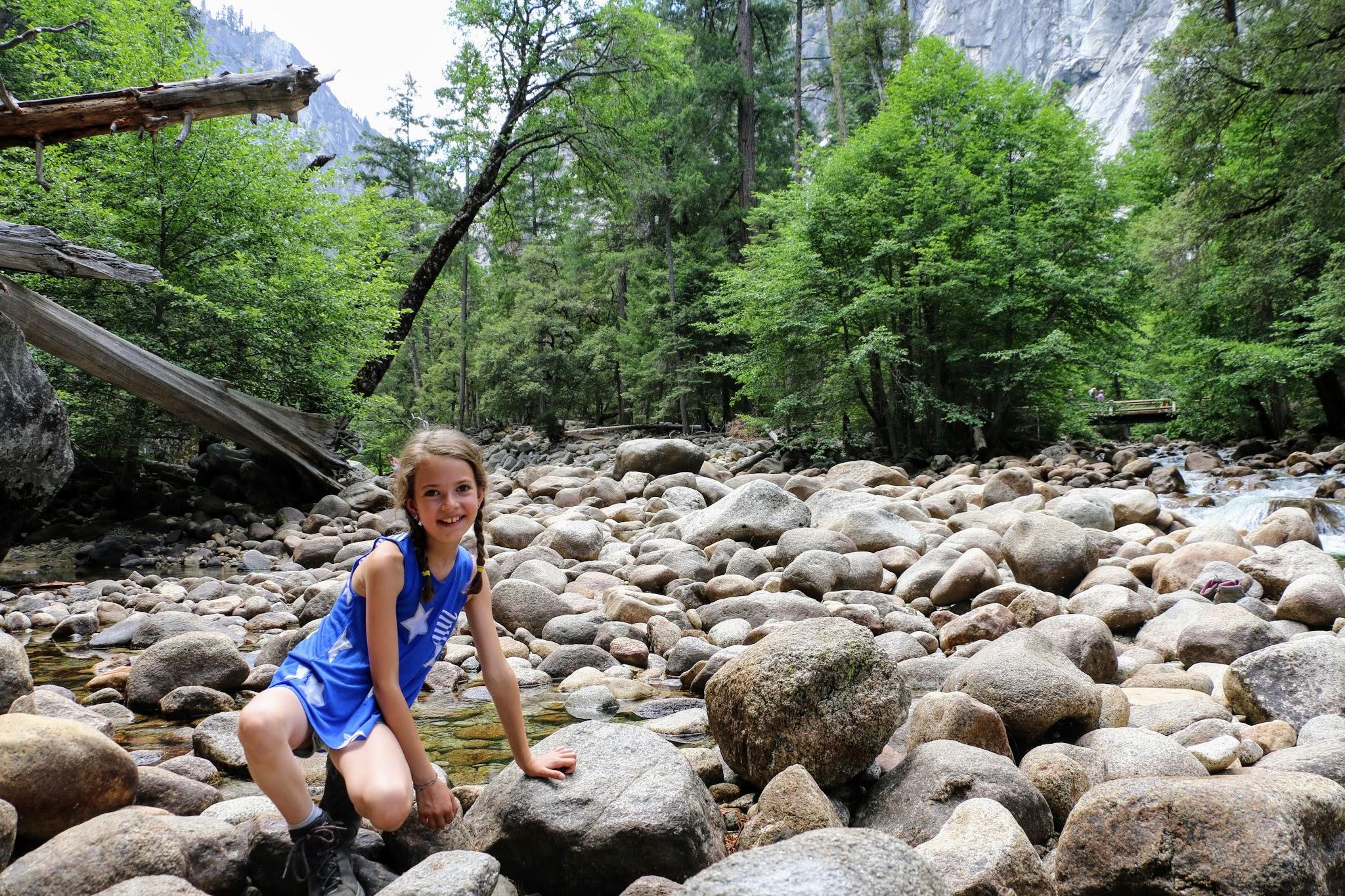 Merced Rivier Yosemite