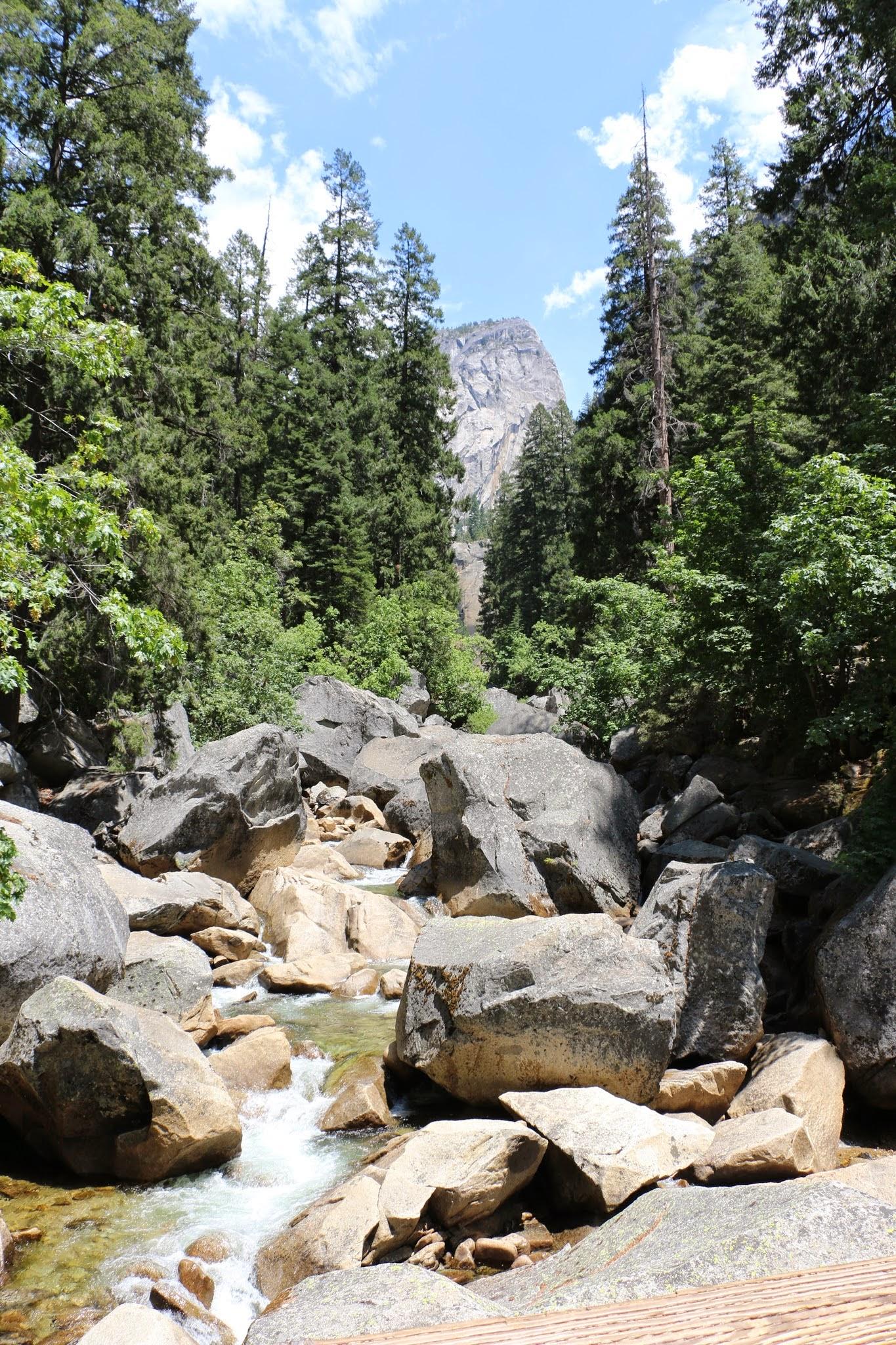 Rivier in Yosemite