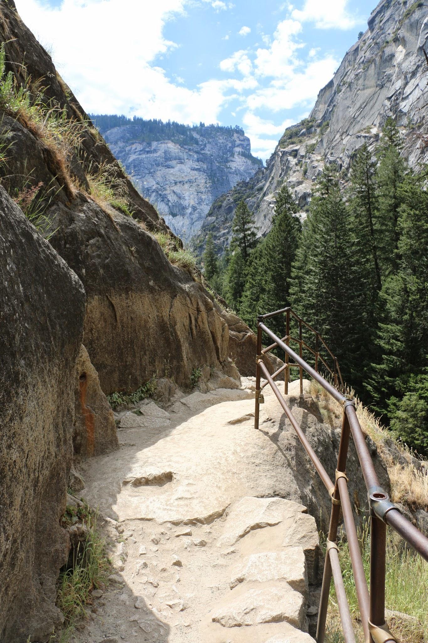 Vernal Fall trail