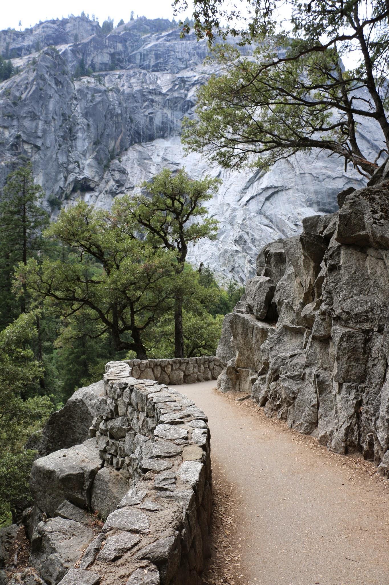 Wandelpad Yosemite Vernal Falls