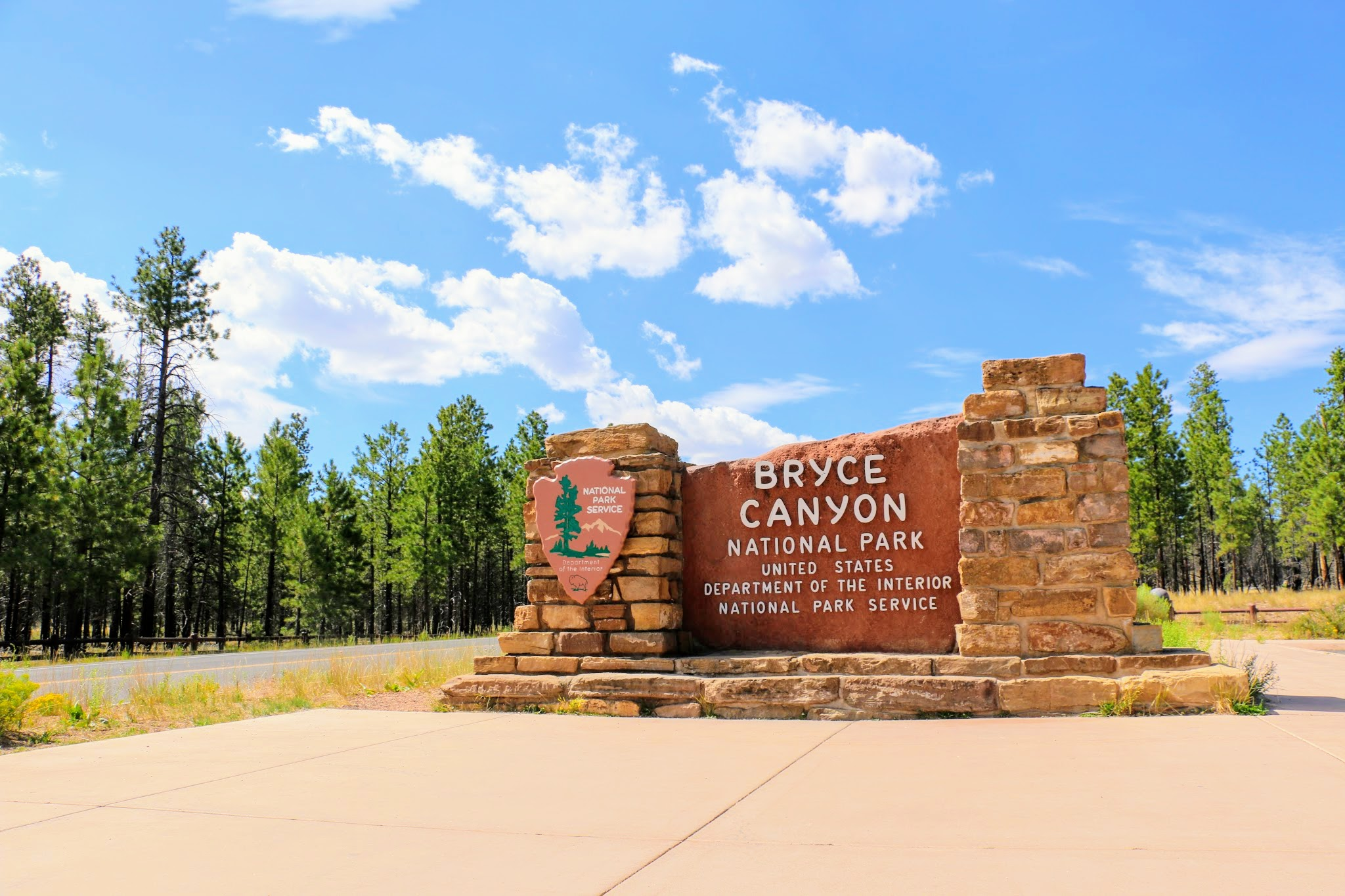 Bryce Canyon National Park inkom