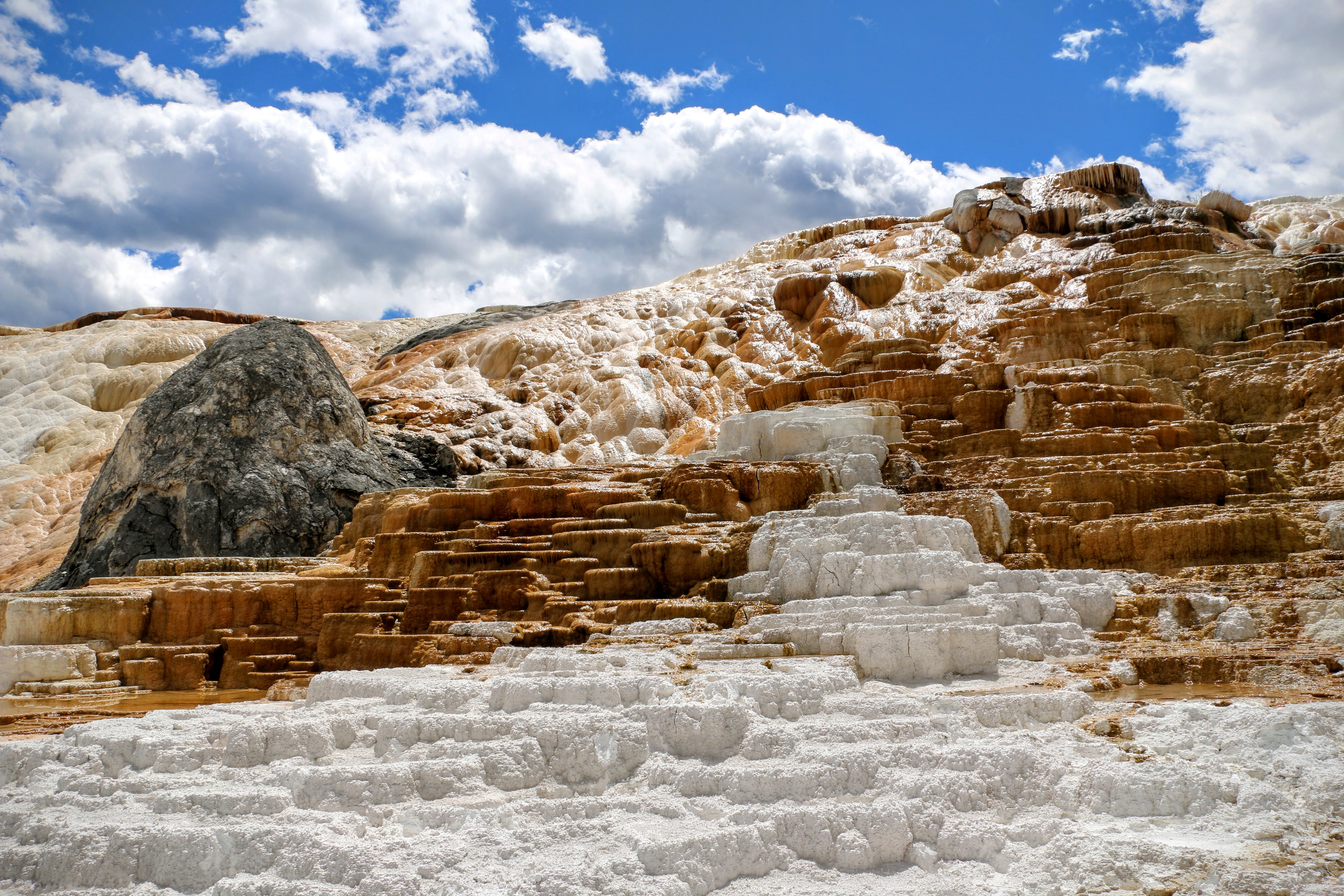 Sepulcher Mountain in Yellowstone Wyoming