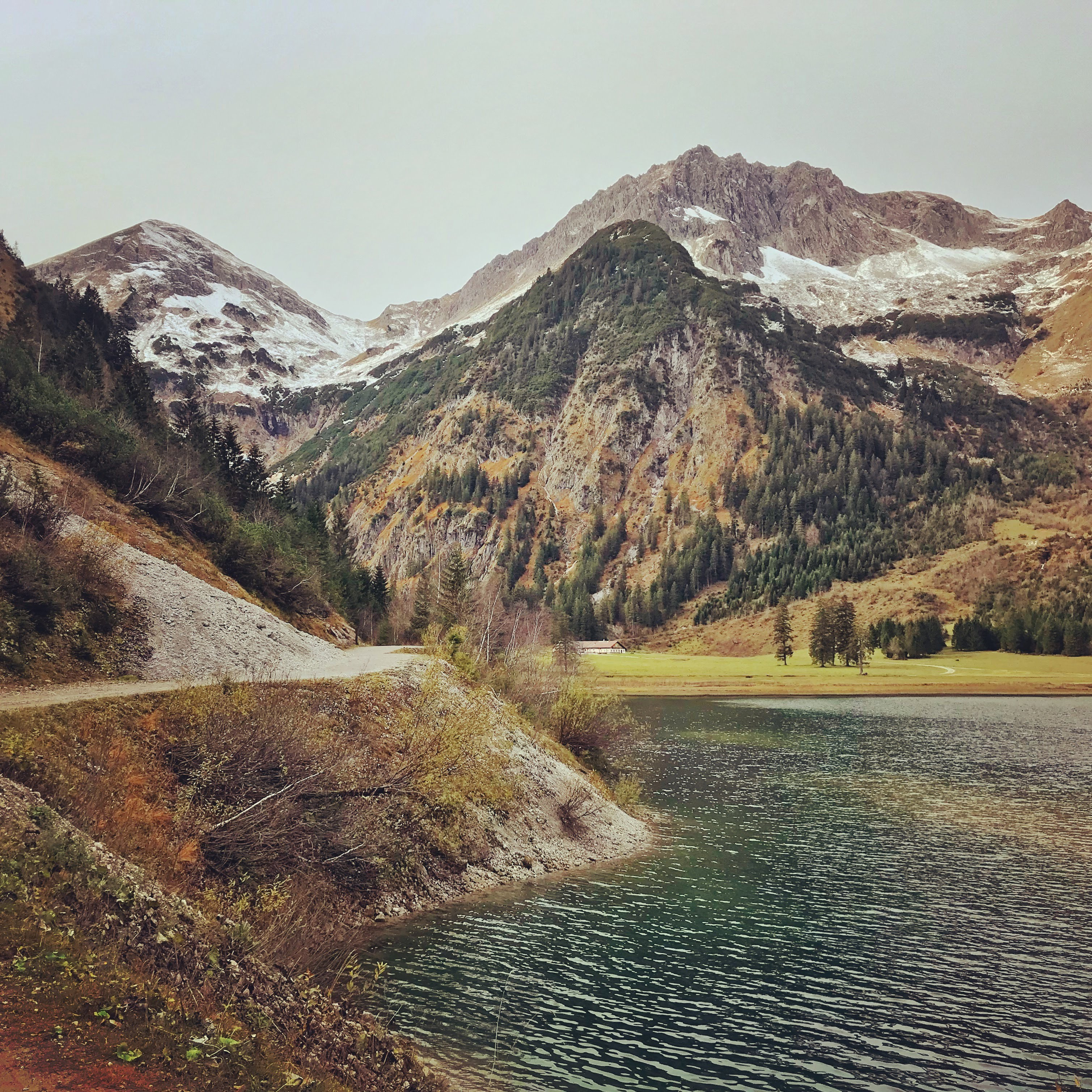 Wandeling langs de Vilsalpsee in het Tannheimer Tal