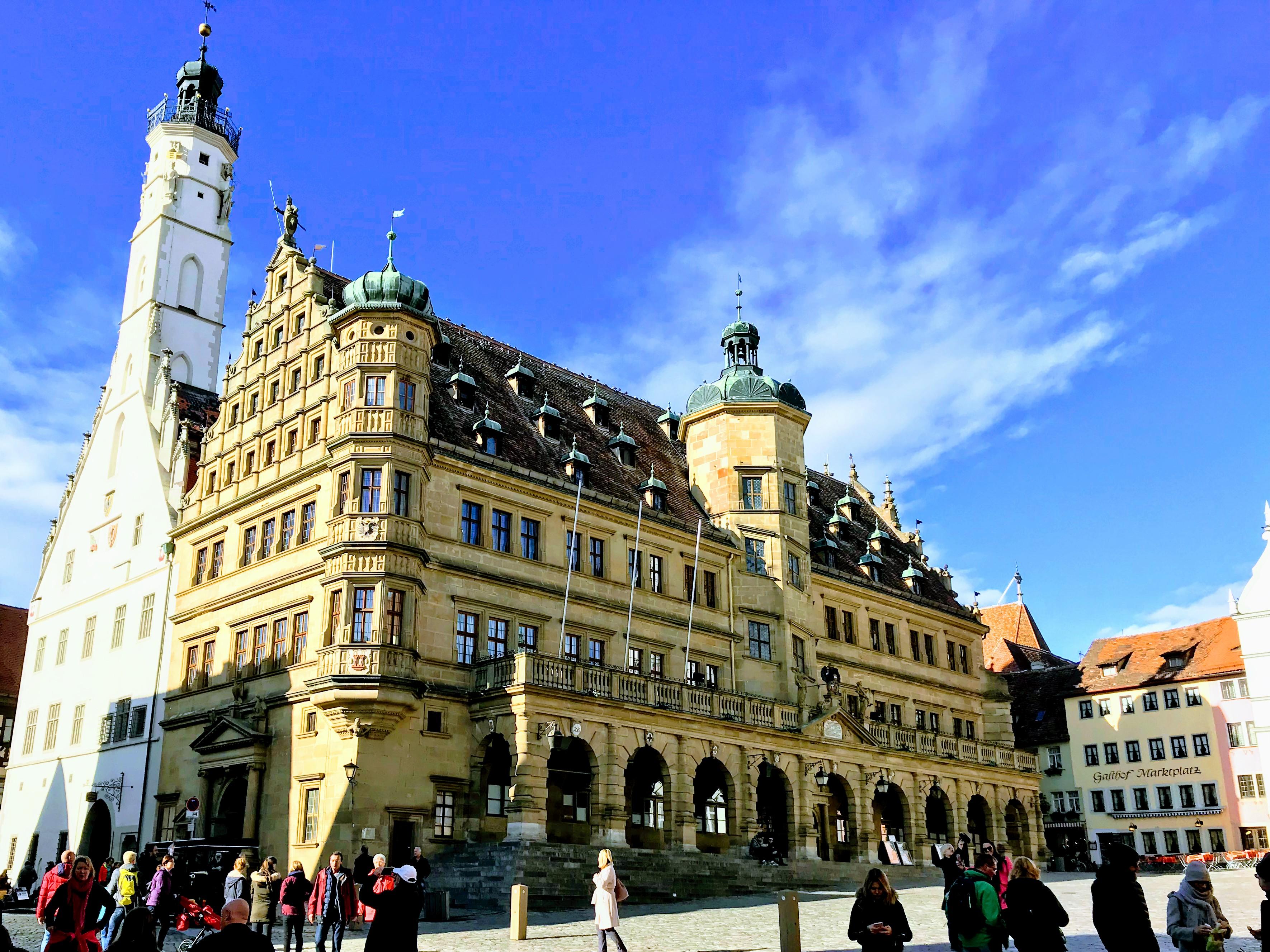 Rothenburg ob der Tauber stadsplein