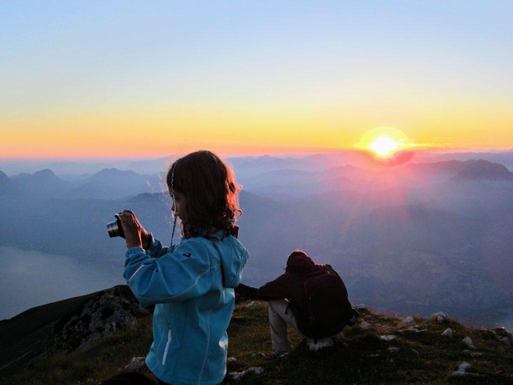 Zonsondergang Monte Baldo