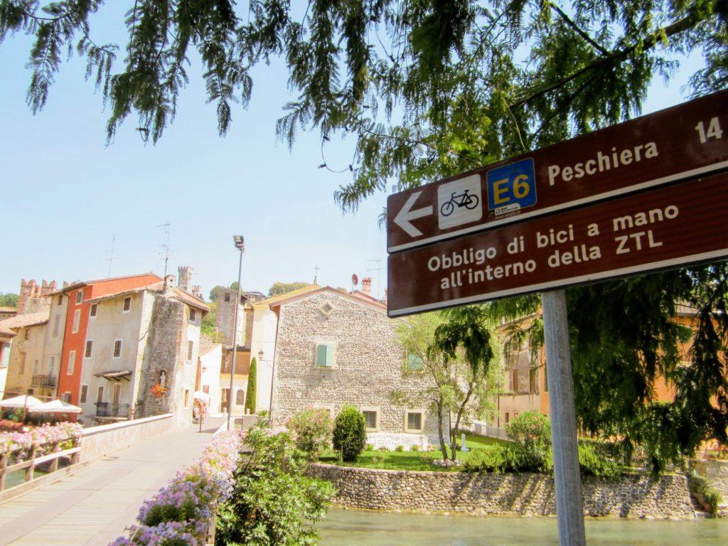 Met de fiets van Peschiera naar Borghetto