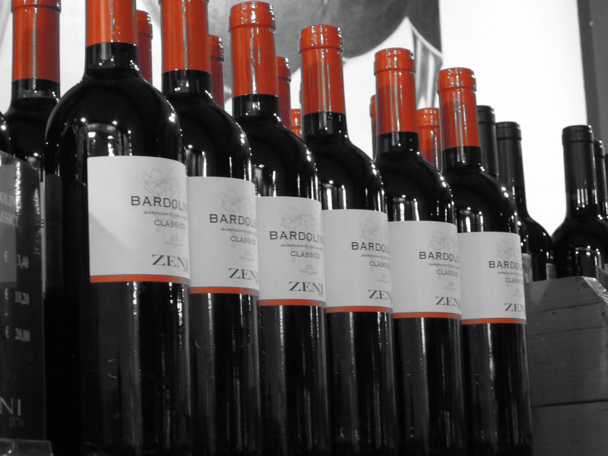 Bardolino wijn Gardameer