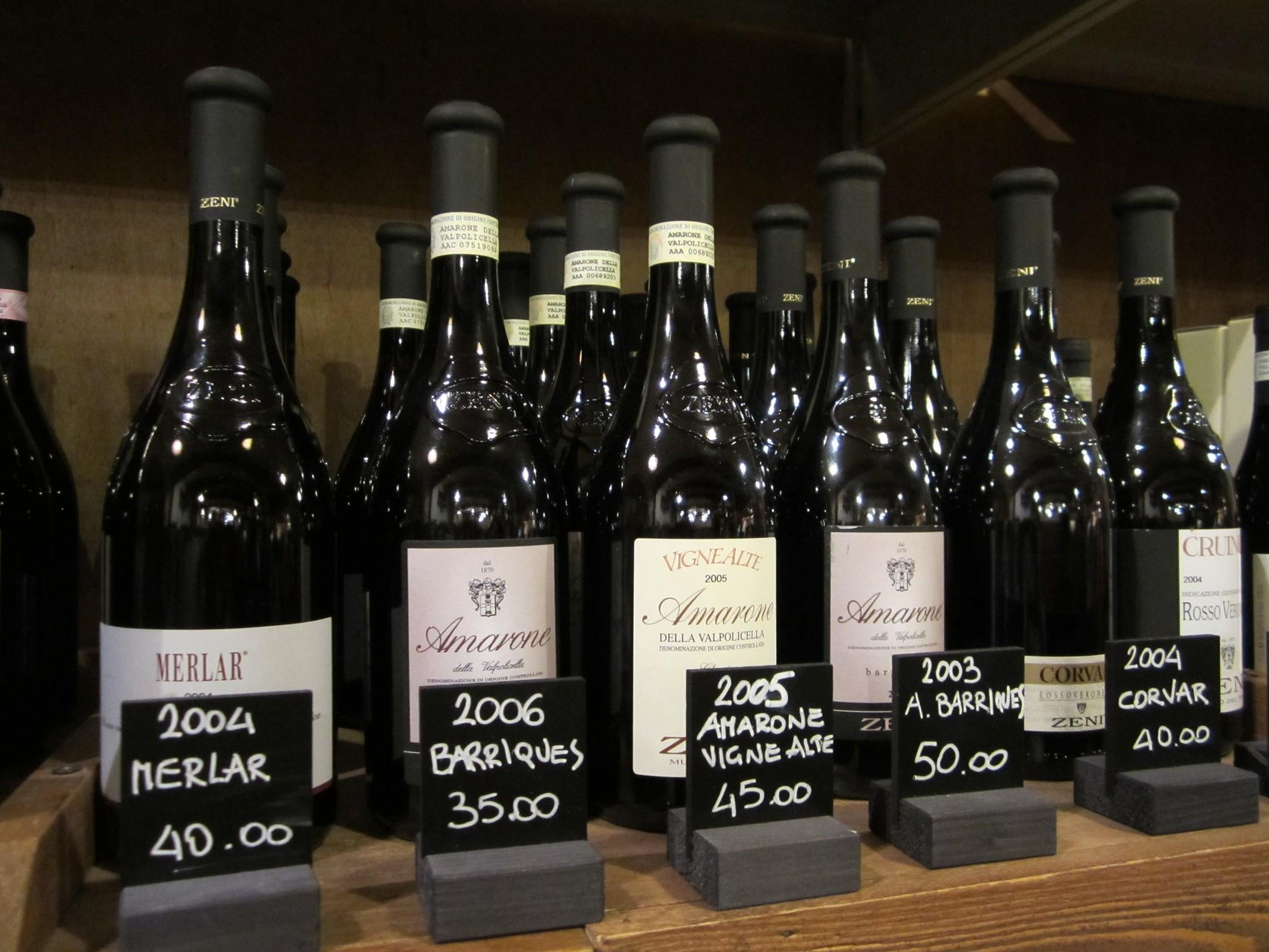 Amarone wijn Gardameer