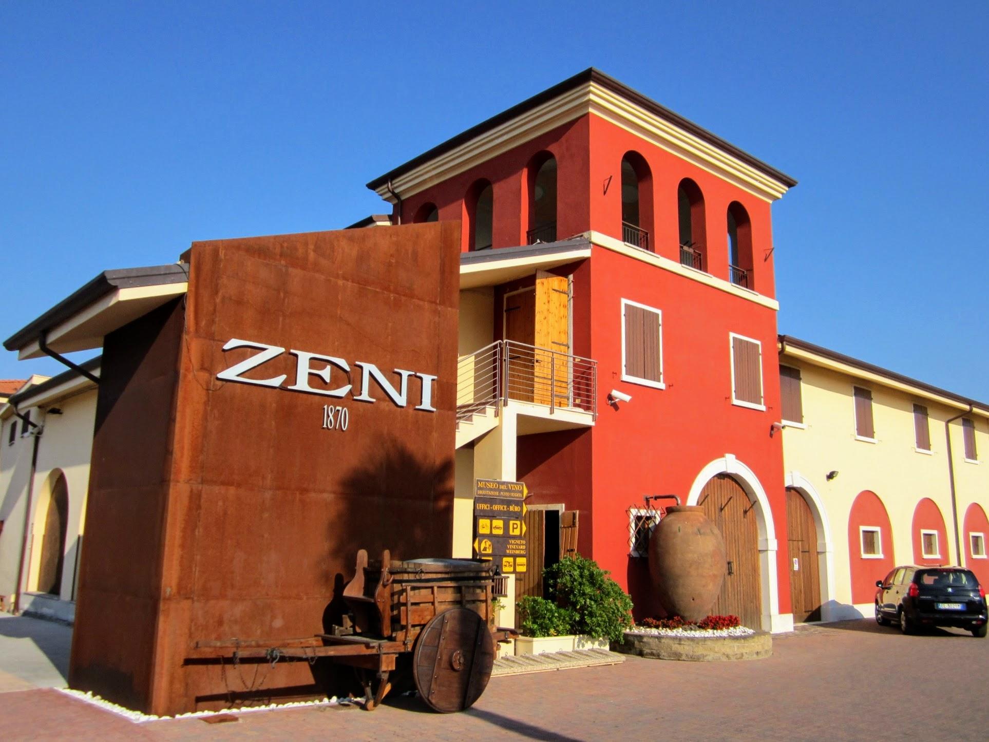 Wijnhuizen aan het Gardameer
