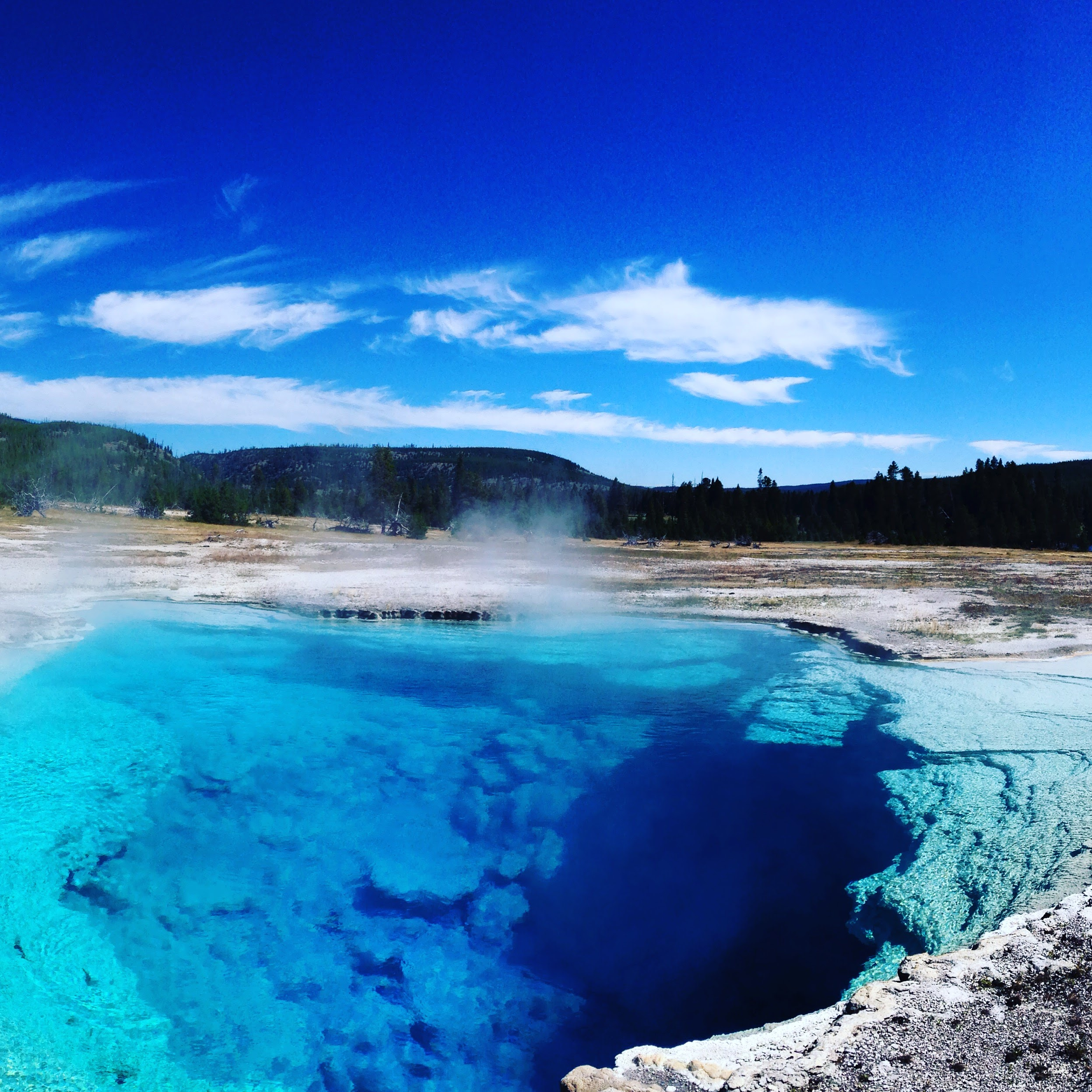 Sapphire Pool - Yellowstone National Park