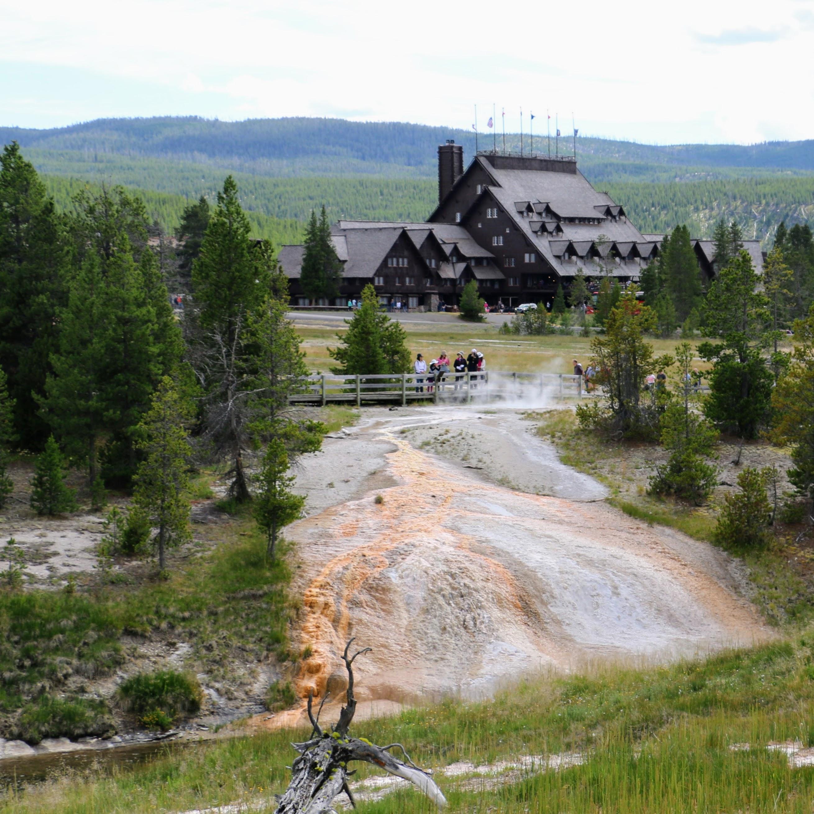 Yellowstone waar overnachten?