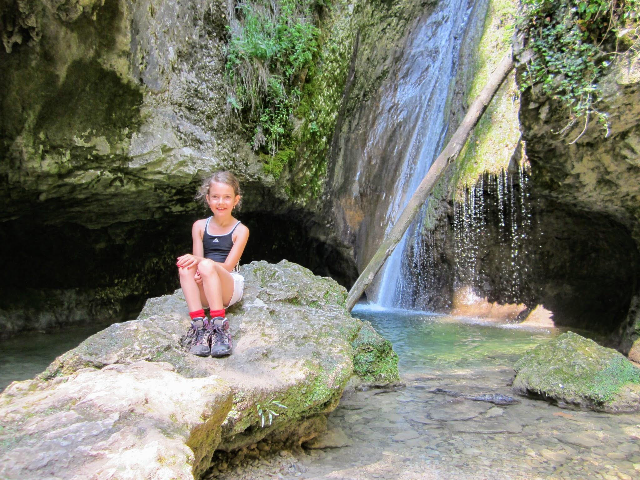 Watervallenpark aan het Gardameer