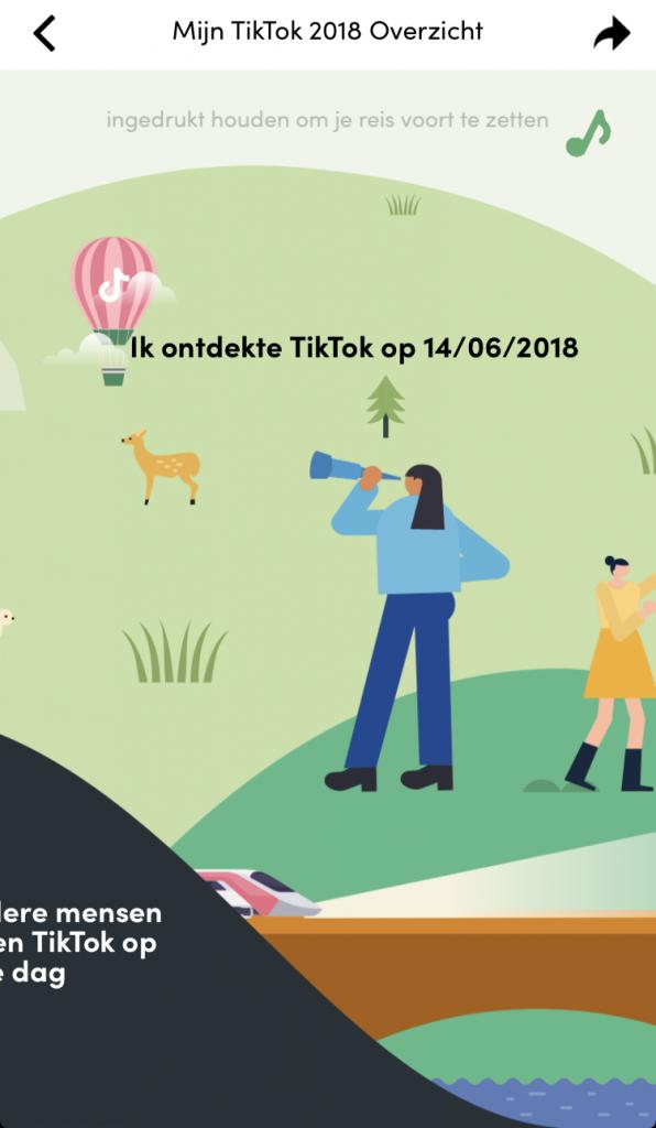 Een TikTok account maken