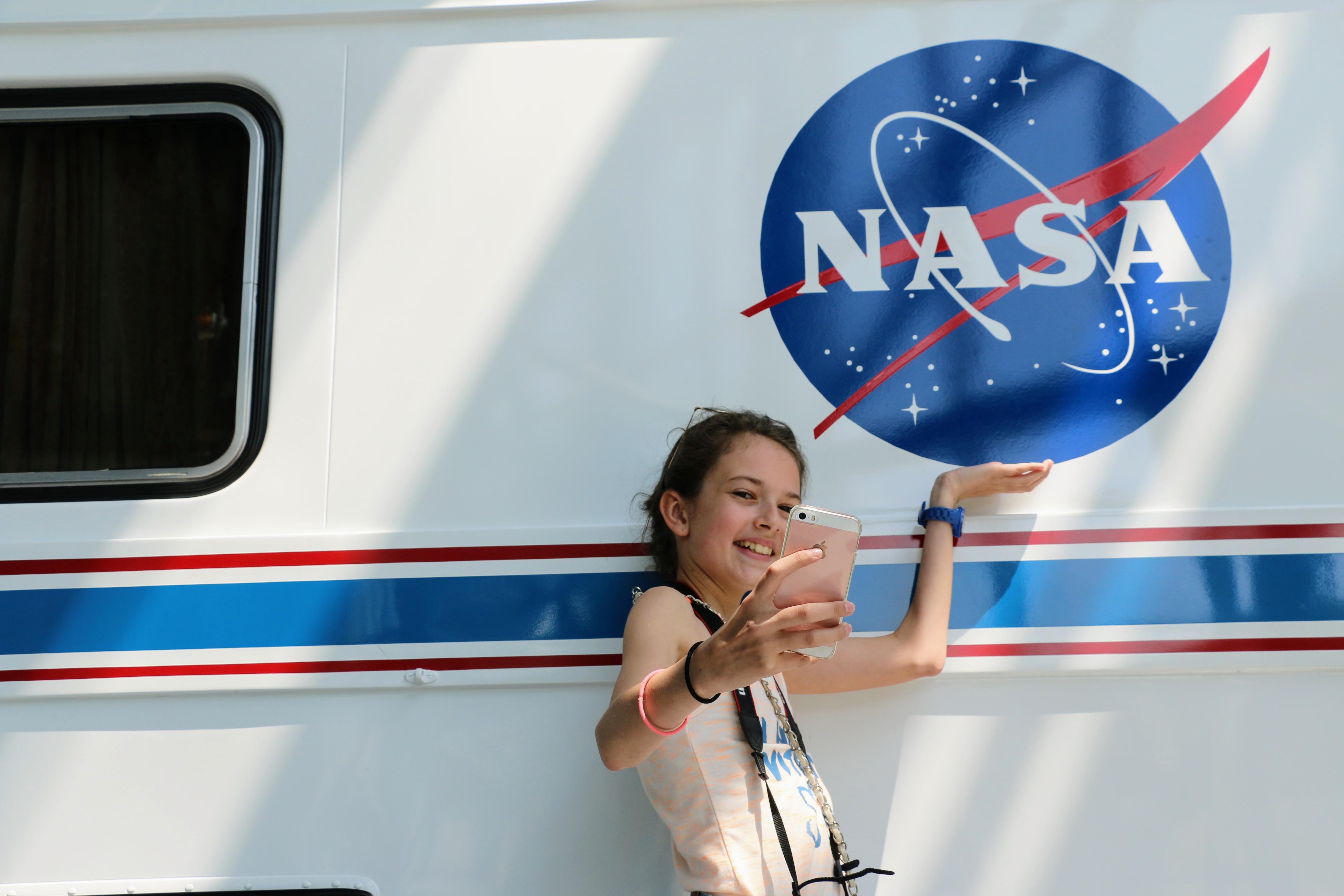 NASA in Florida bezoeken met kind