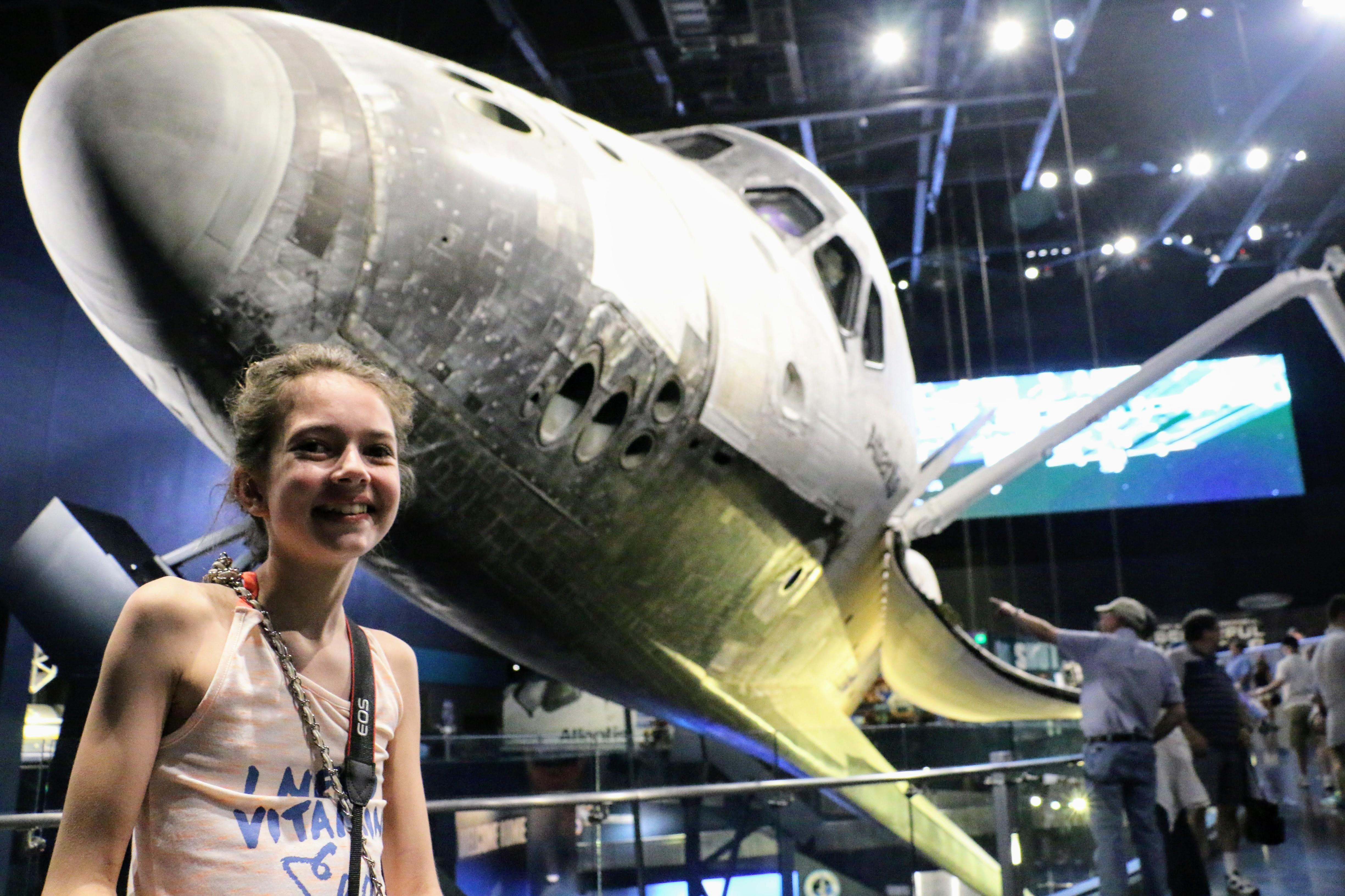 Met kinderen naar Florida - Kennedy Space Center