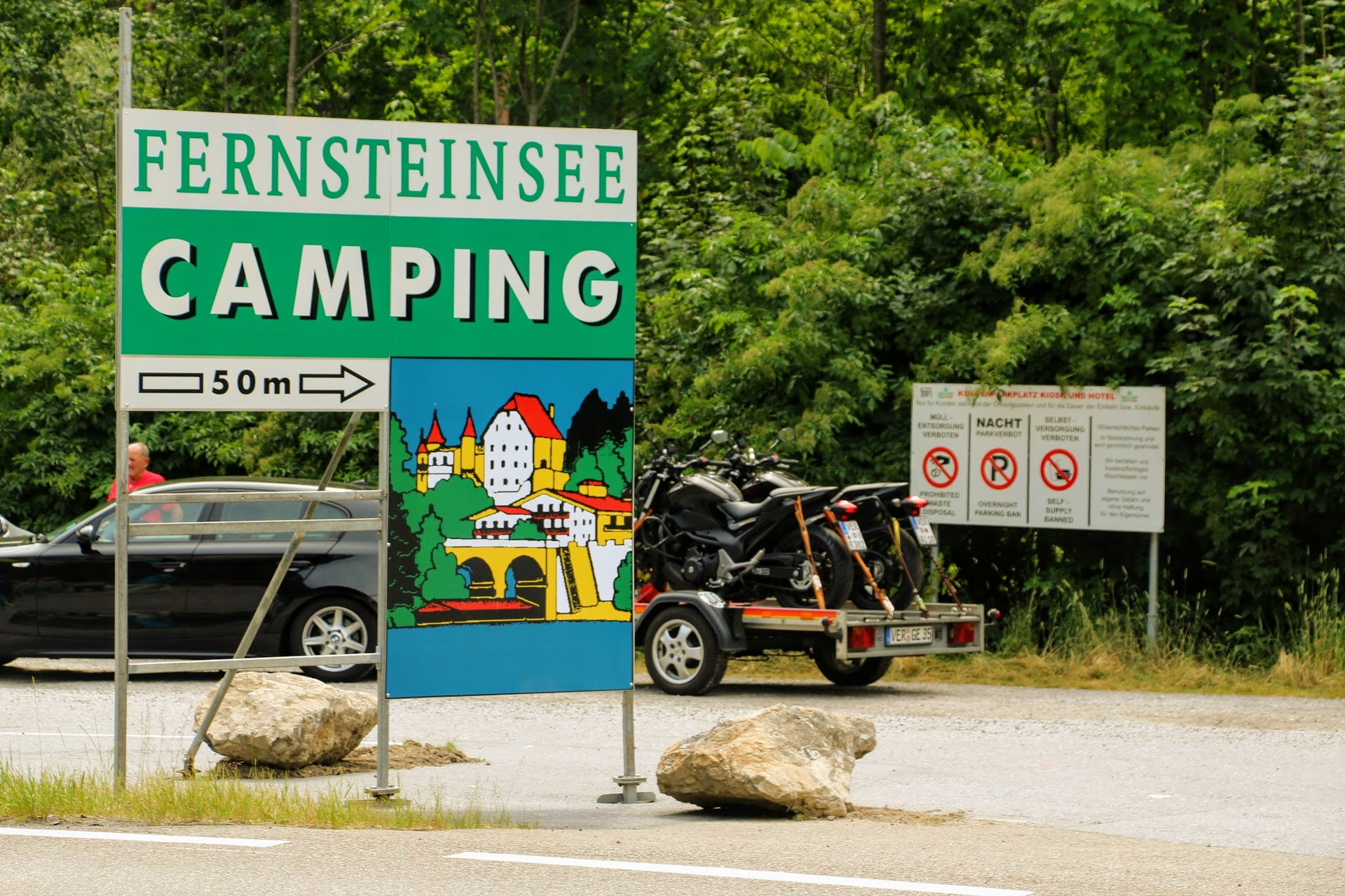 Camping bij Fernpass