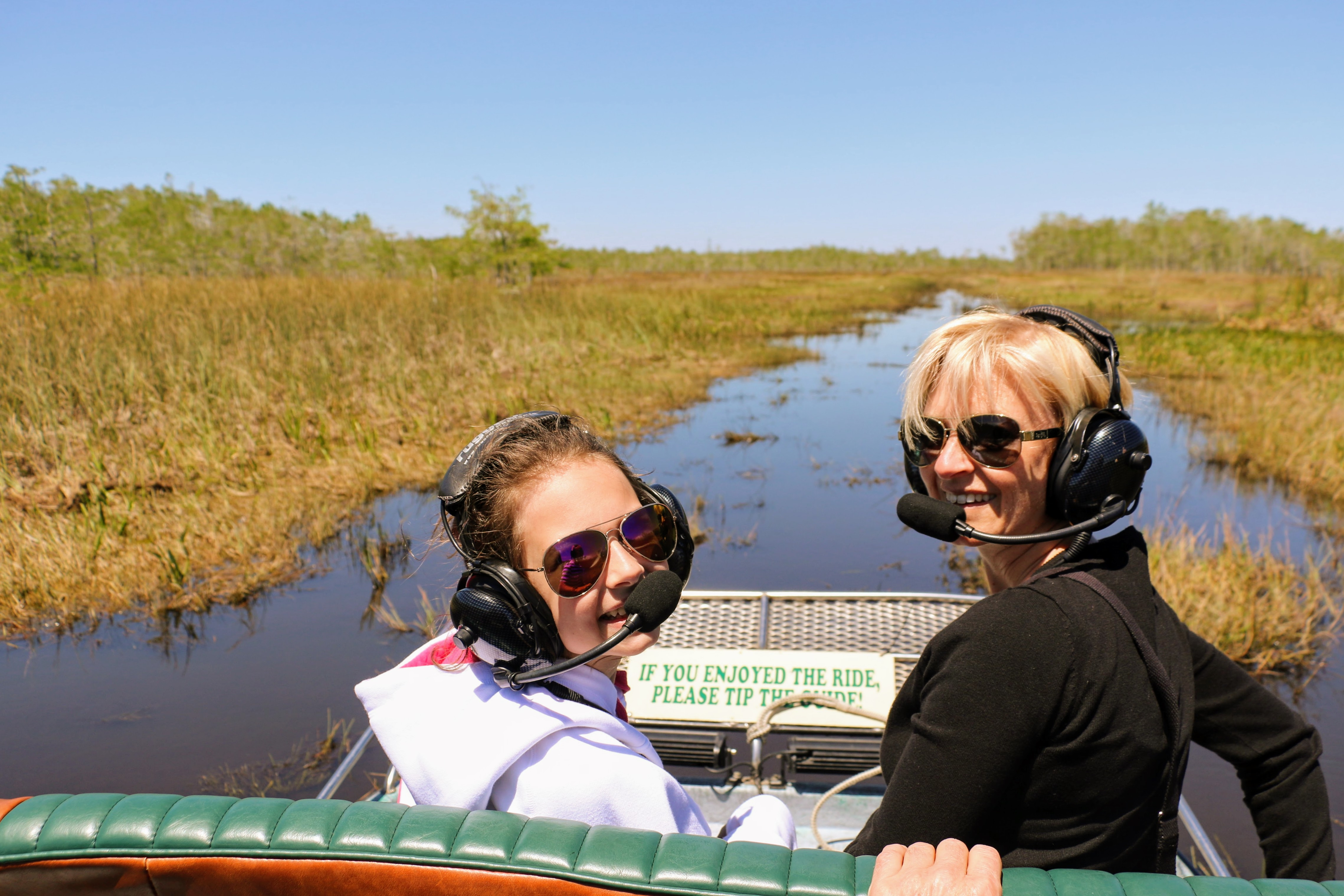 Airboat Tour Everglades met kind