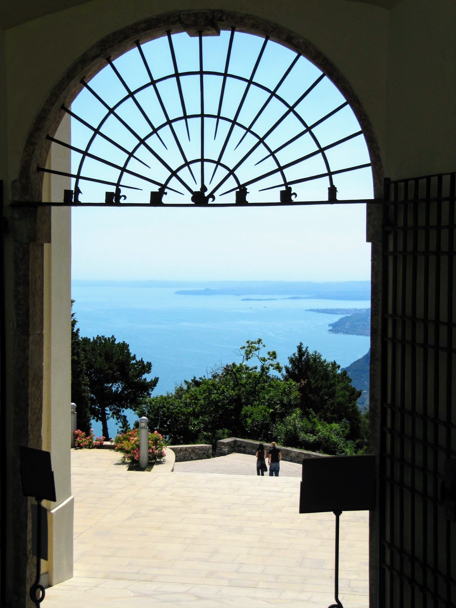 Uitzicht vanaf Montecastello in Tignale