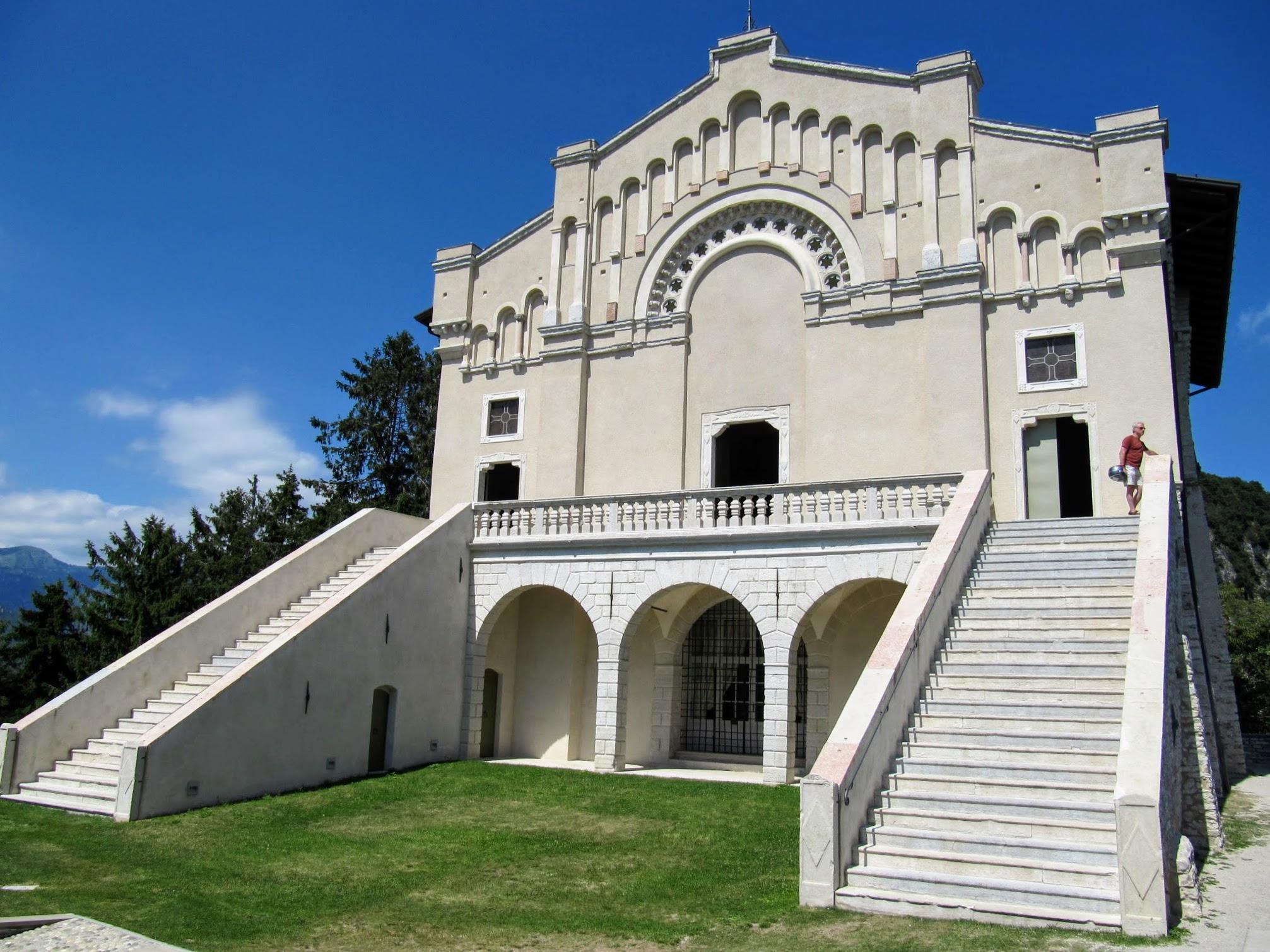 Trappen Santuario di Montecastello in Tignale