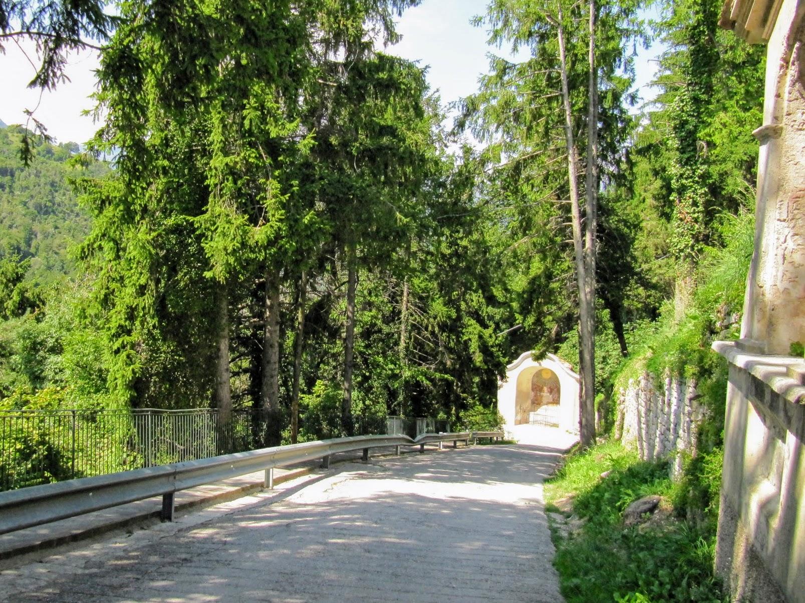 Route naar Santuario di Montecastello in Tignale