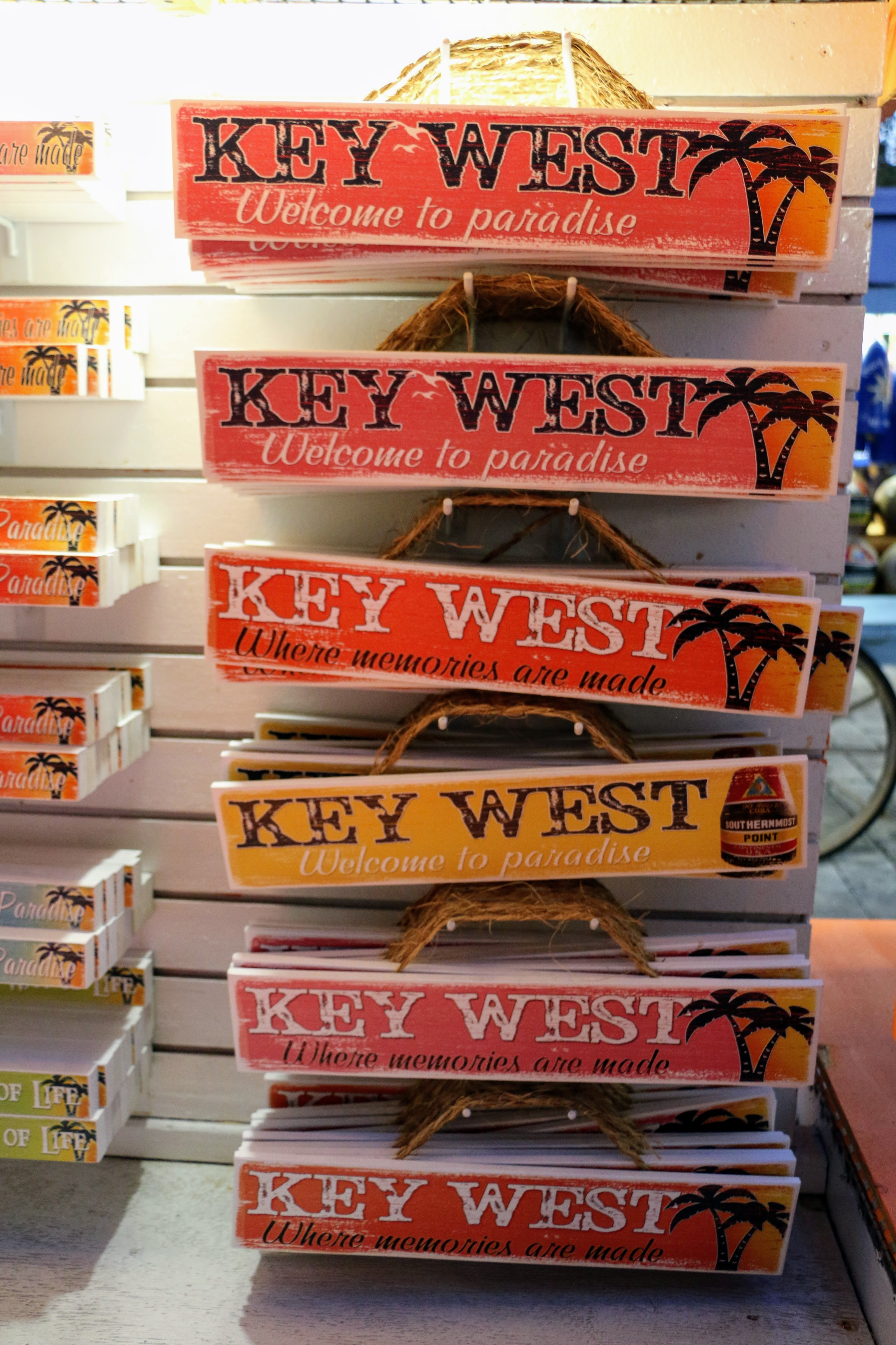 Key West -, Welcome to Paradise