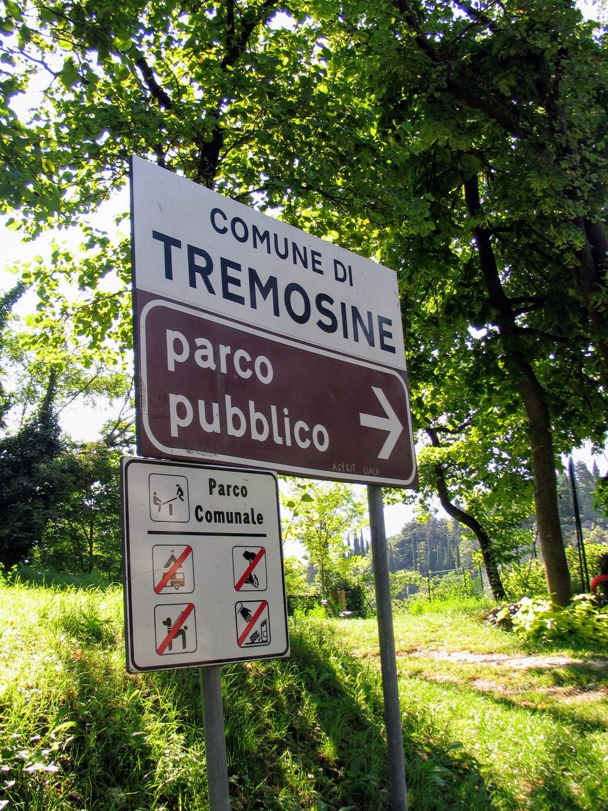 Parking Tremosine