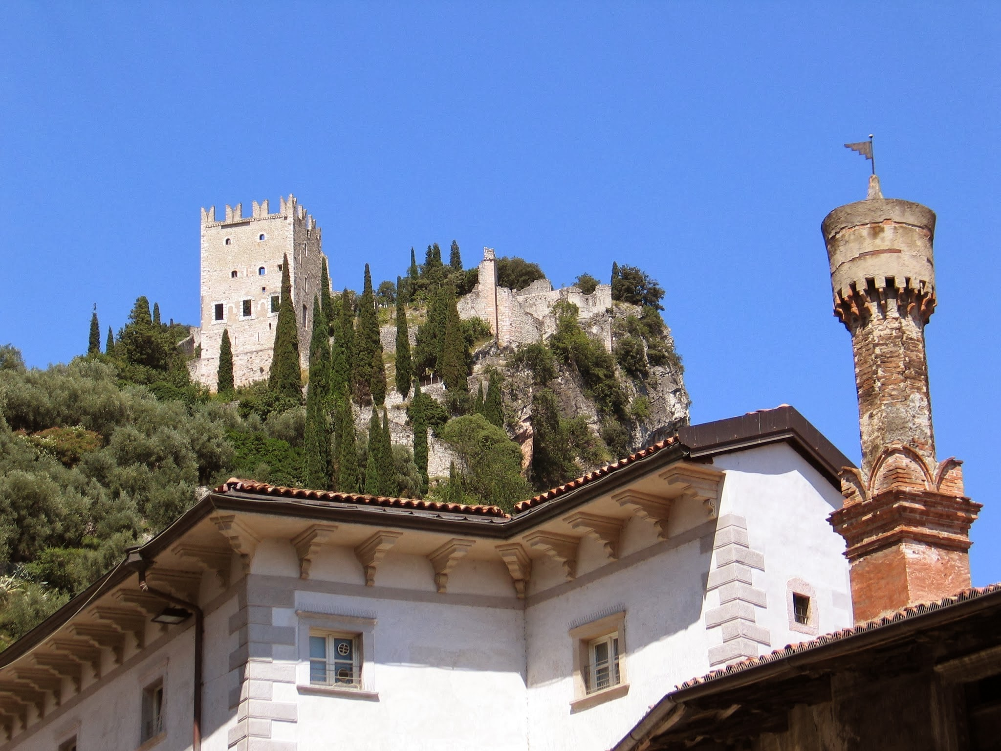 Castello di Arco aan het Gardameer