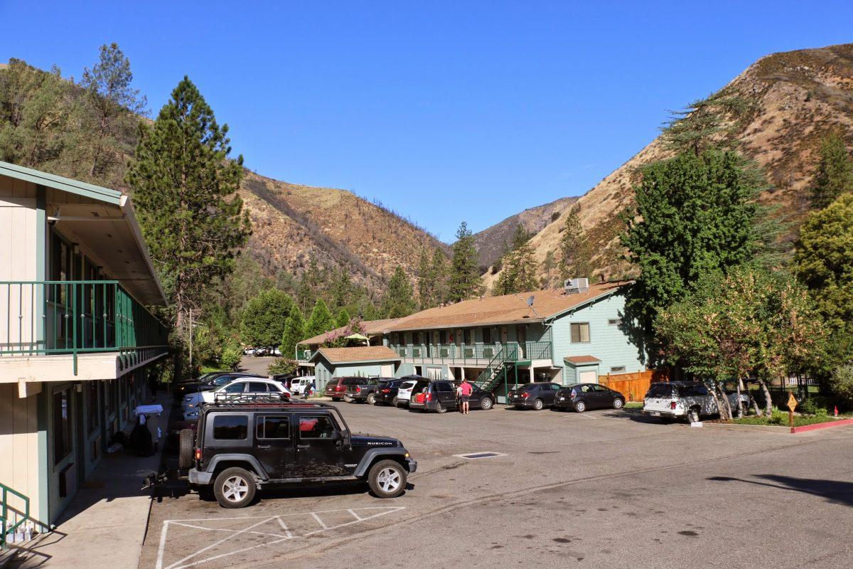 Logeren in Yosemite of buiten het park?