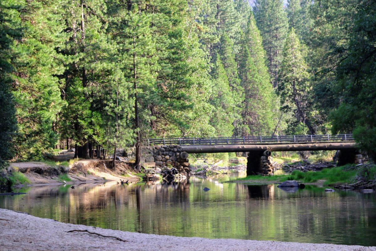 Avondwandeling in Yosemite