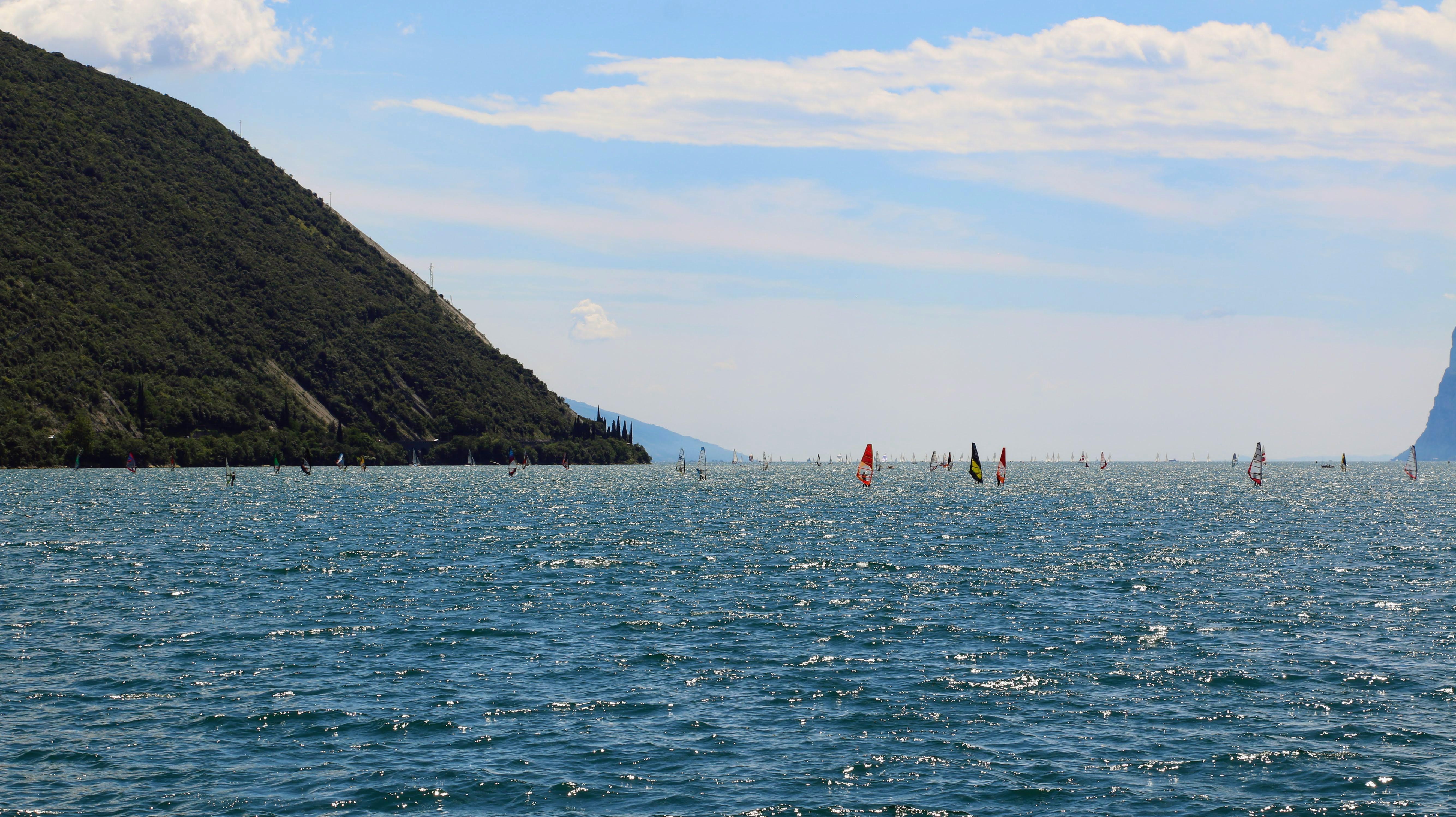 Torbole sul Garda - zicht op Gardameer
