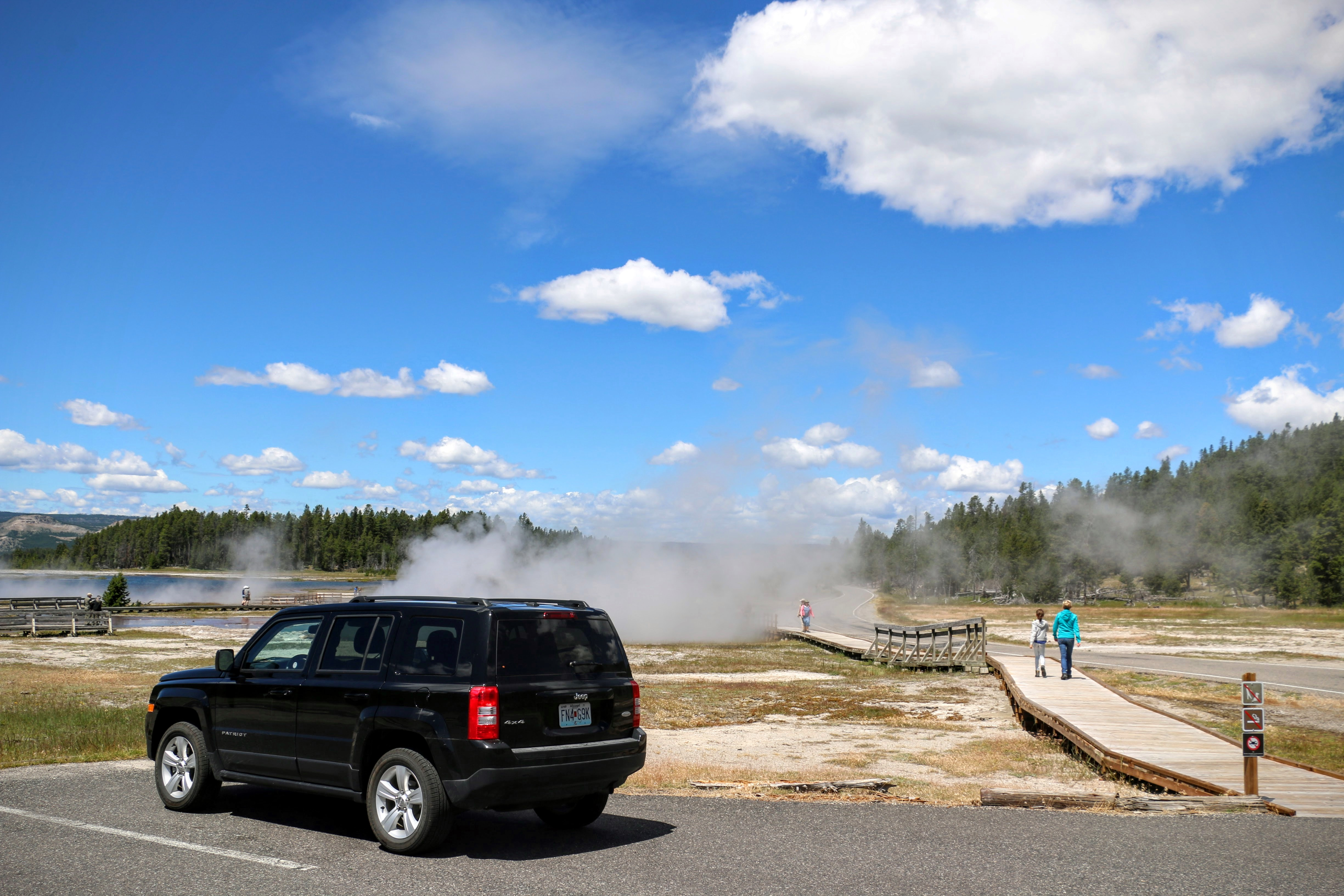 Roadtrip inclusief Yellowstone National Park