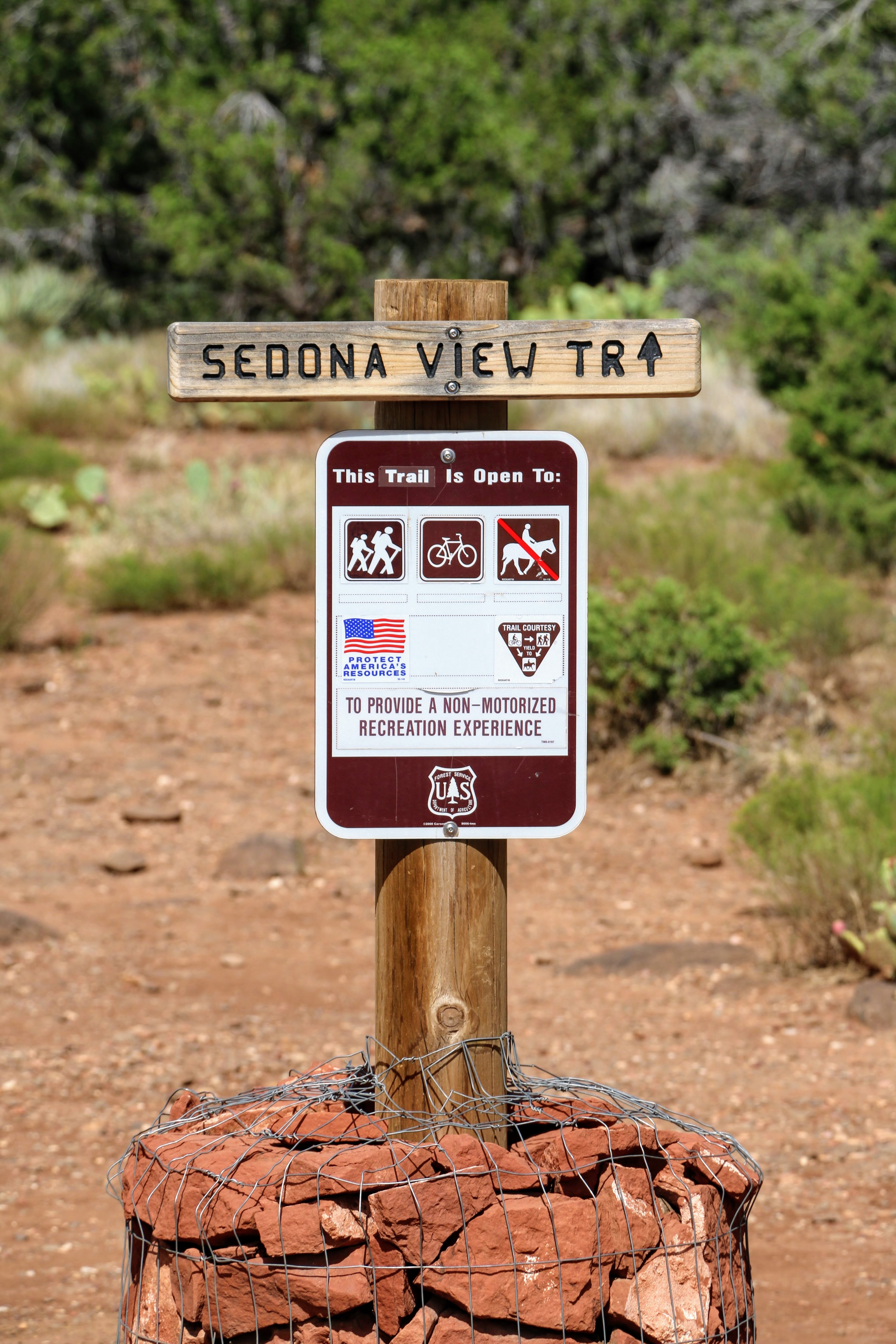 Sedona view trail