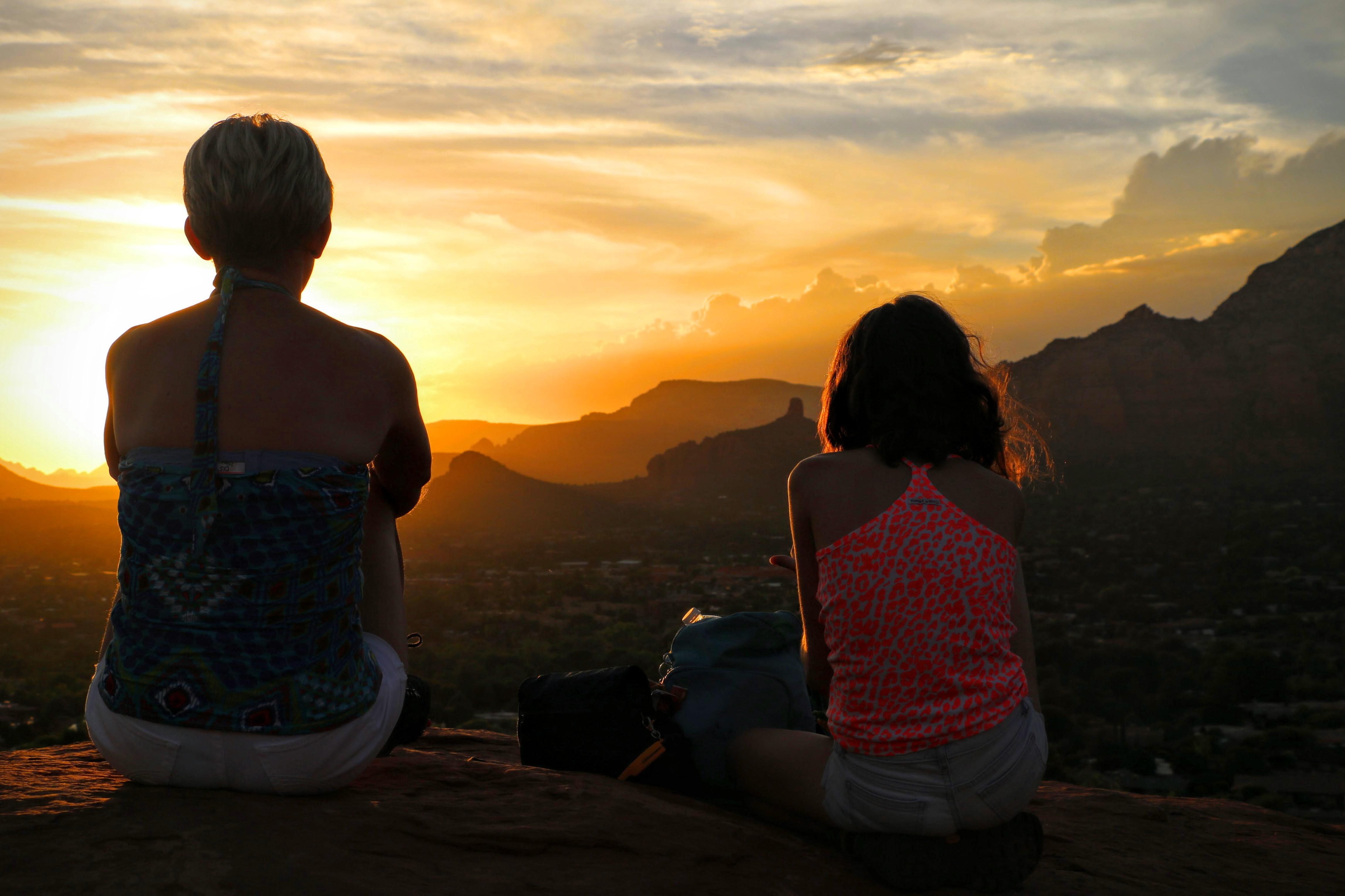 Zonsondergang Arizona