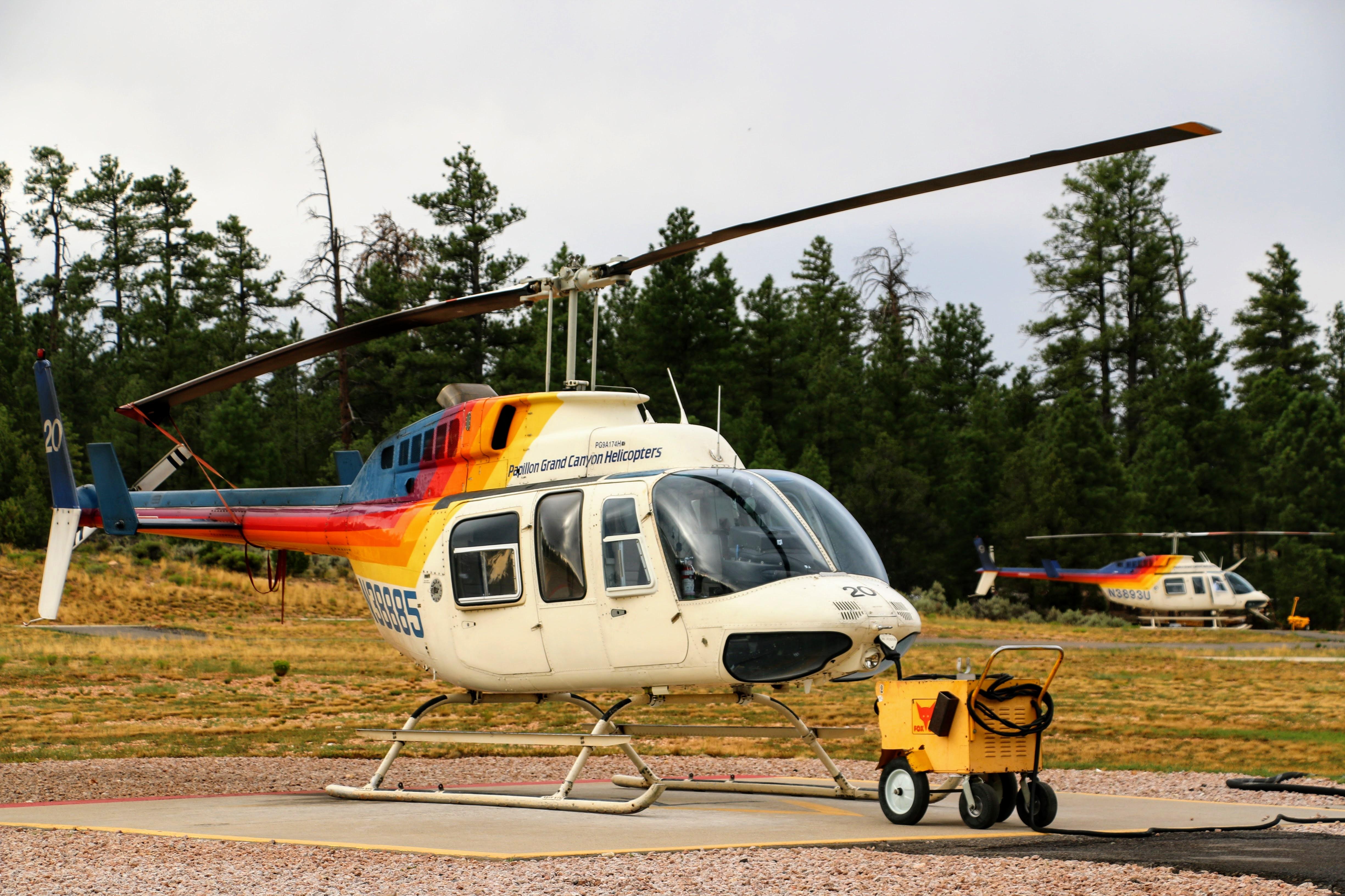 Waar helikoptervlucht boeken voor Grand Canyon
