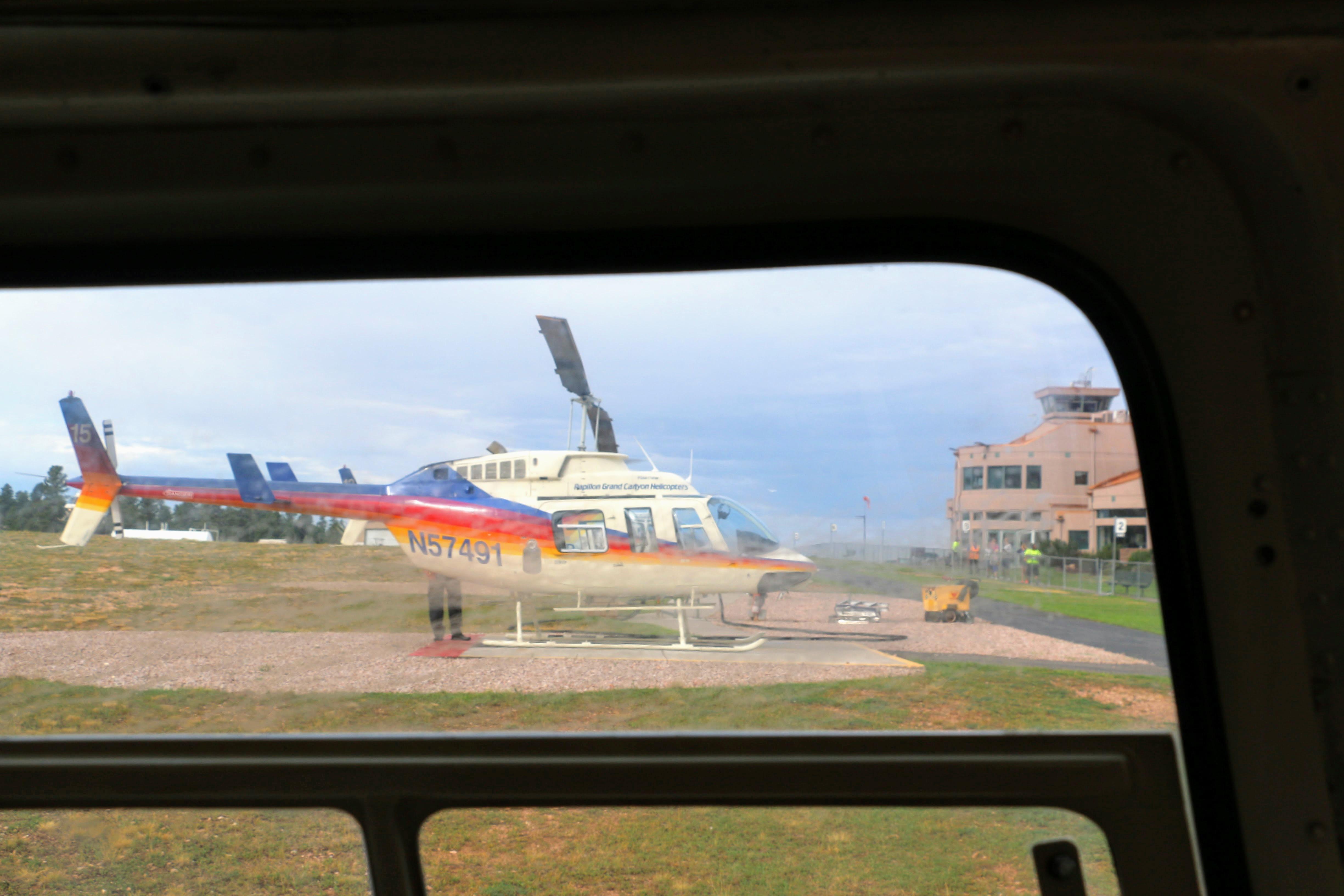Met helikopter over Grand Canyon - beste tijdstip