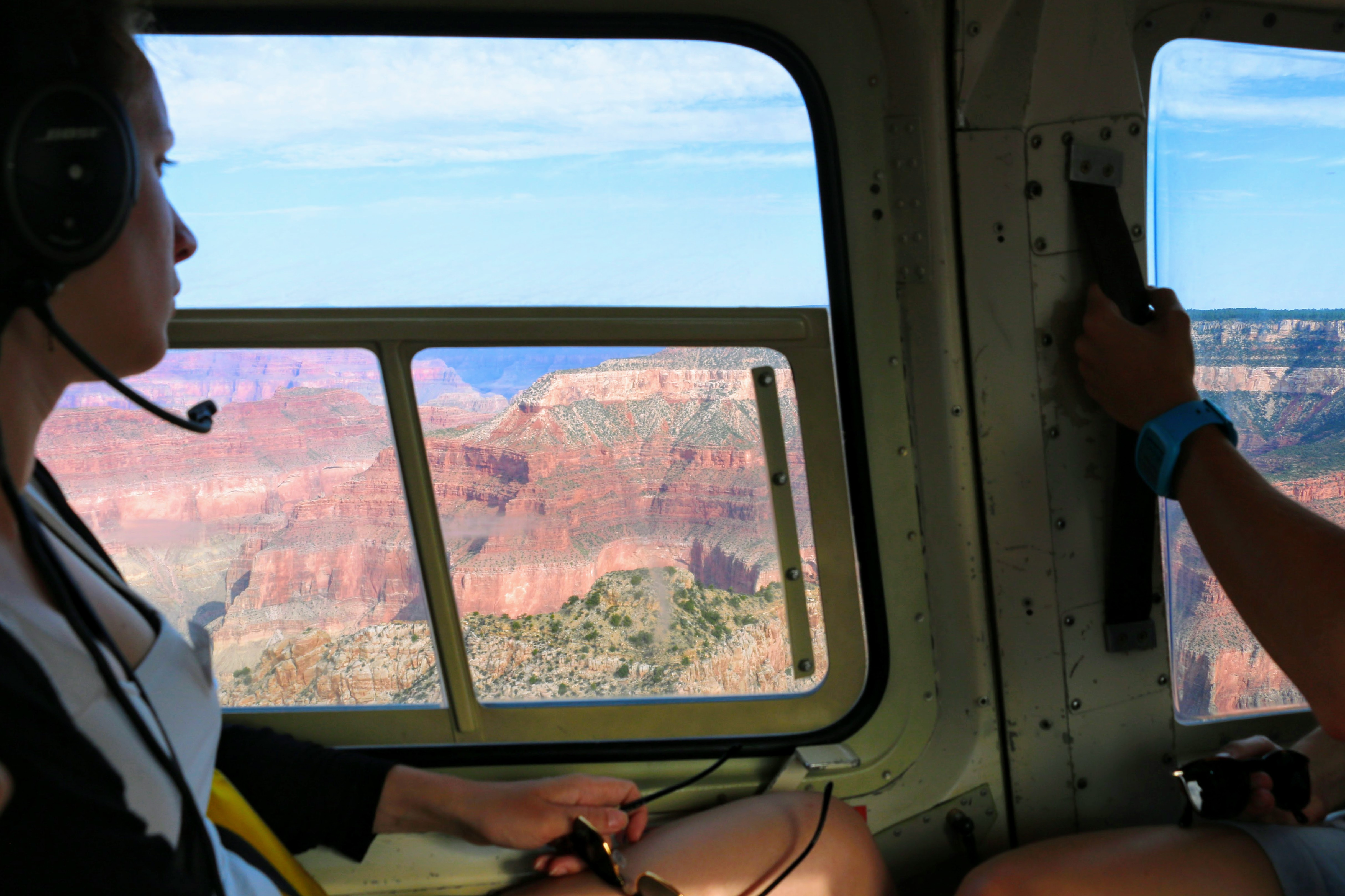 Ervaring helikoptervlucht Grand Canyon